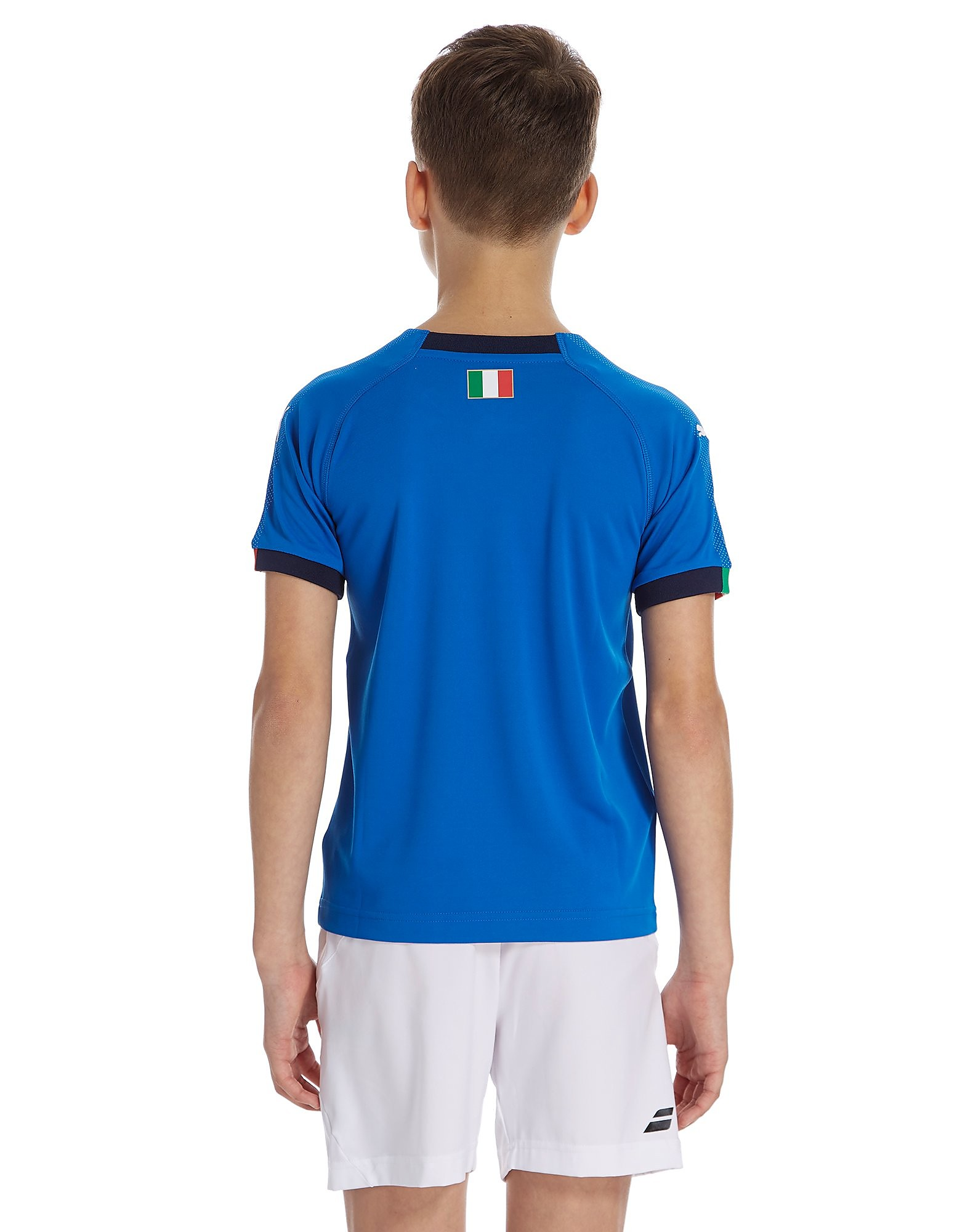 PUMA Italy 2018 Home Shirt Junior