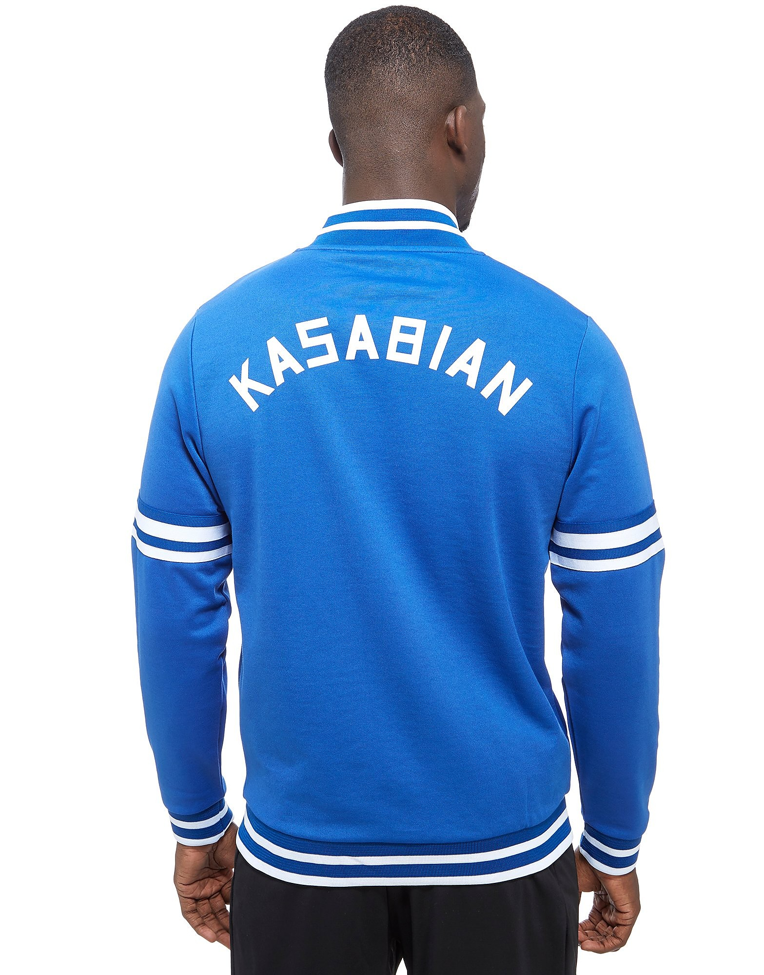 Official Team Leicester City Kasabian Track Top Heren