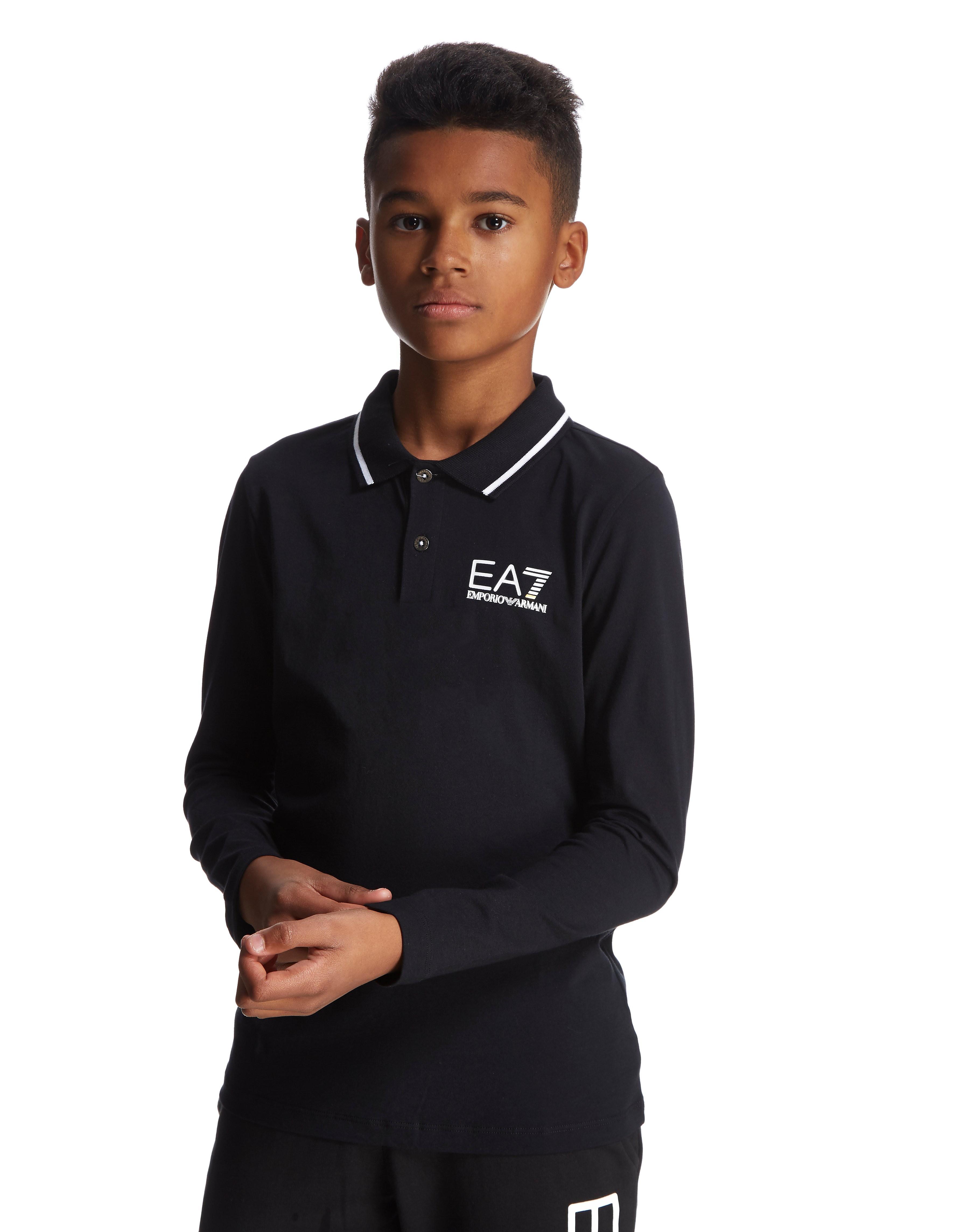 Emporio Armani EA7 Longsleeve Polo Shirt Junior
