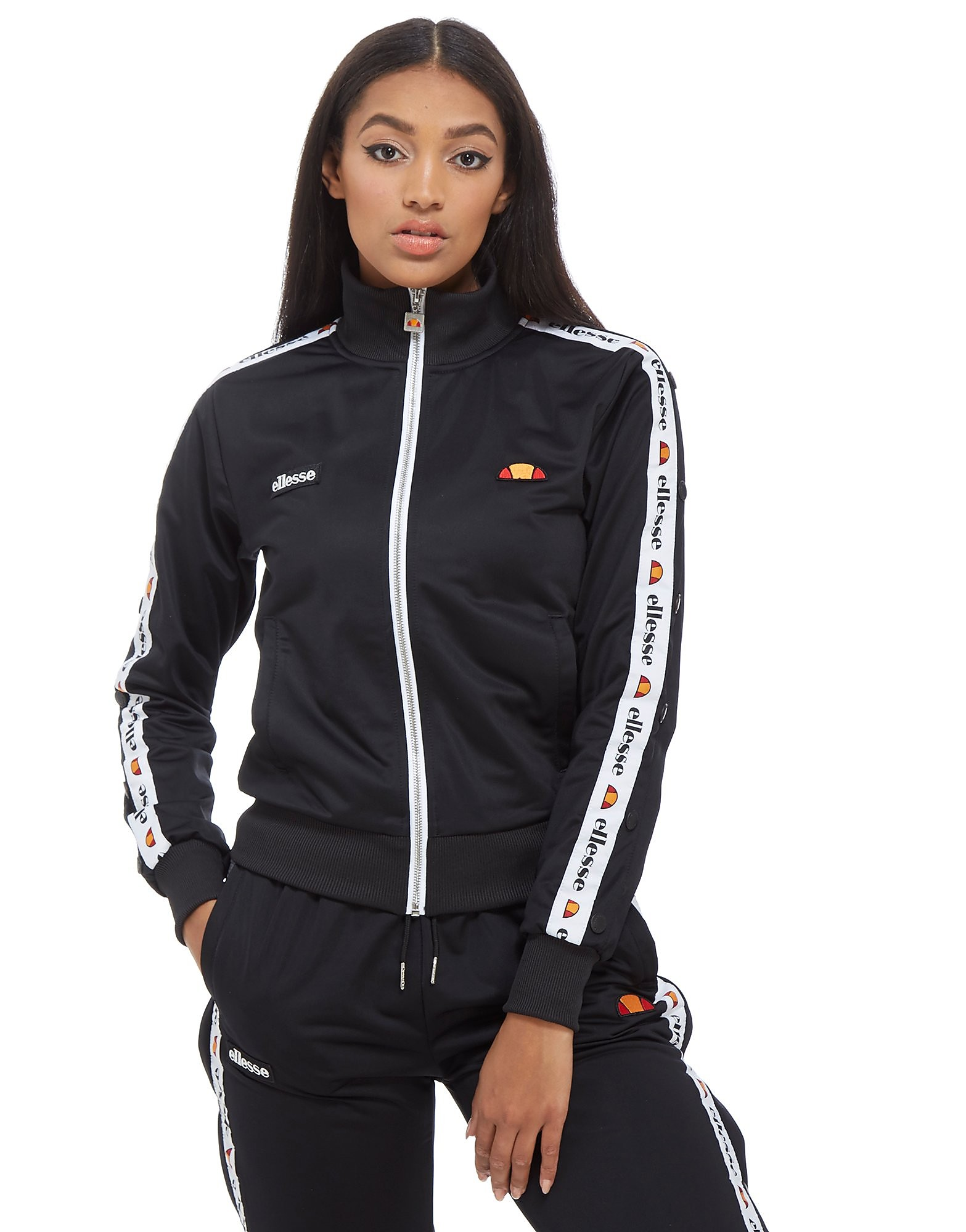 Ellesse Tape Popper Track Top