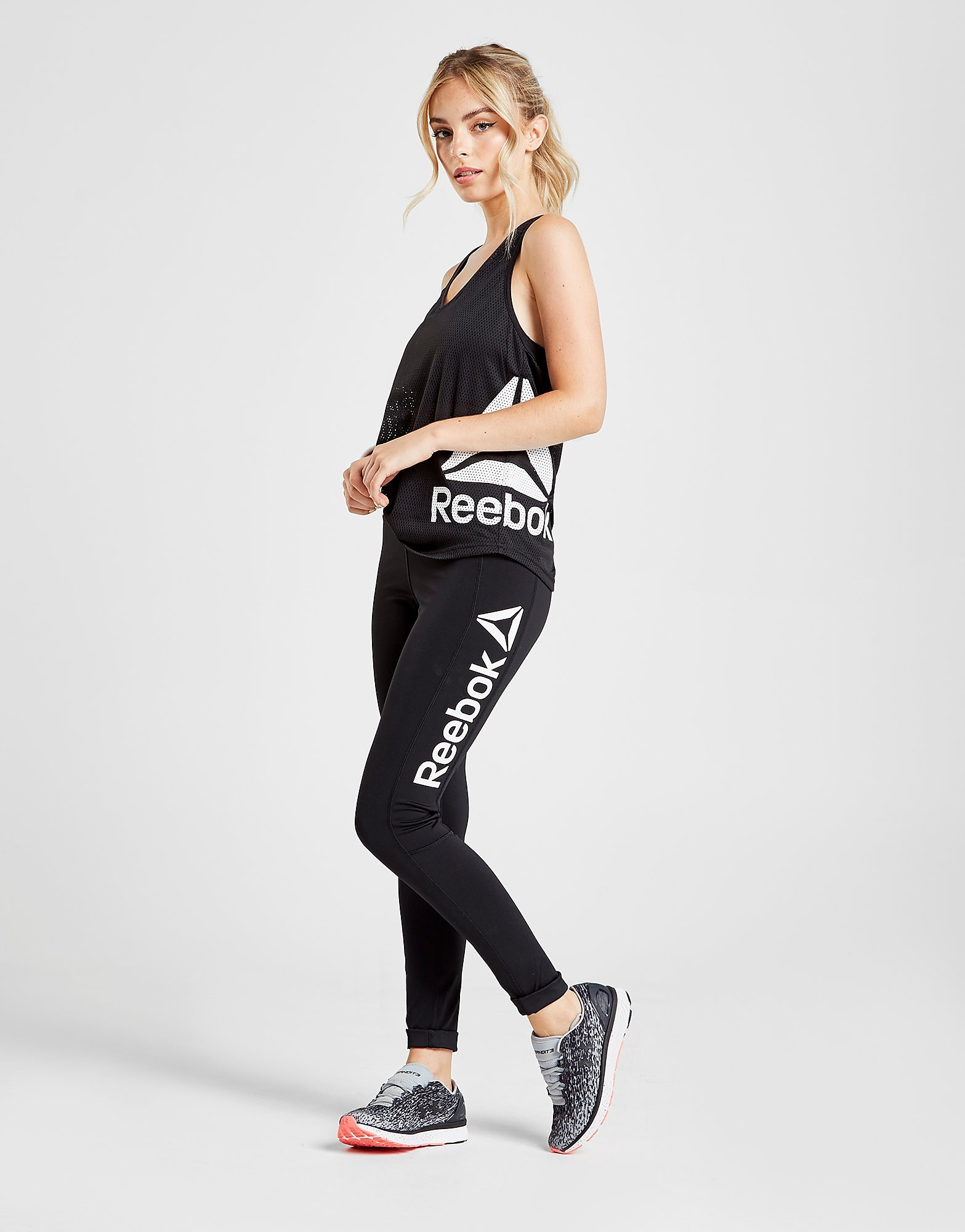 Reebok Logo Panel Tights