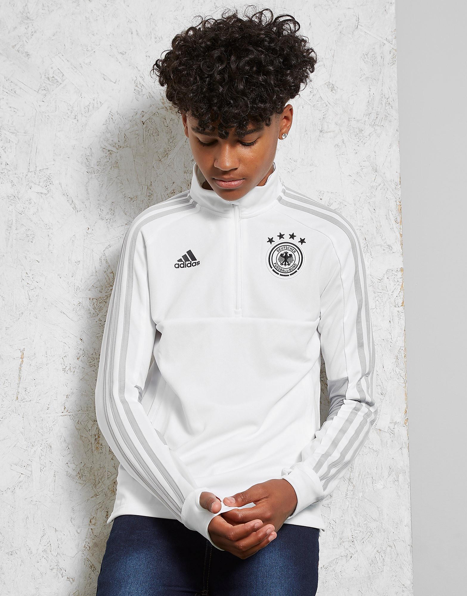 adidas Germany 2018 Training Top Junior - White, White