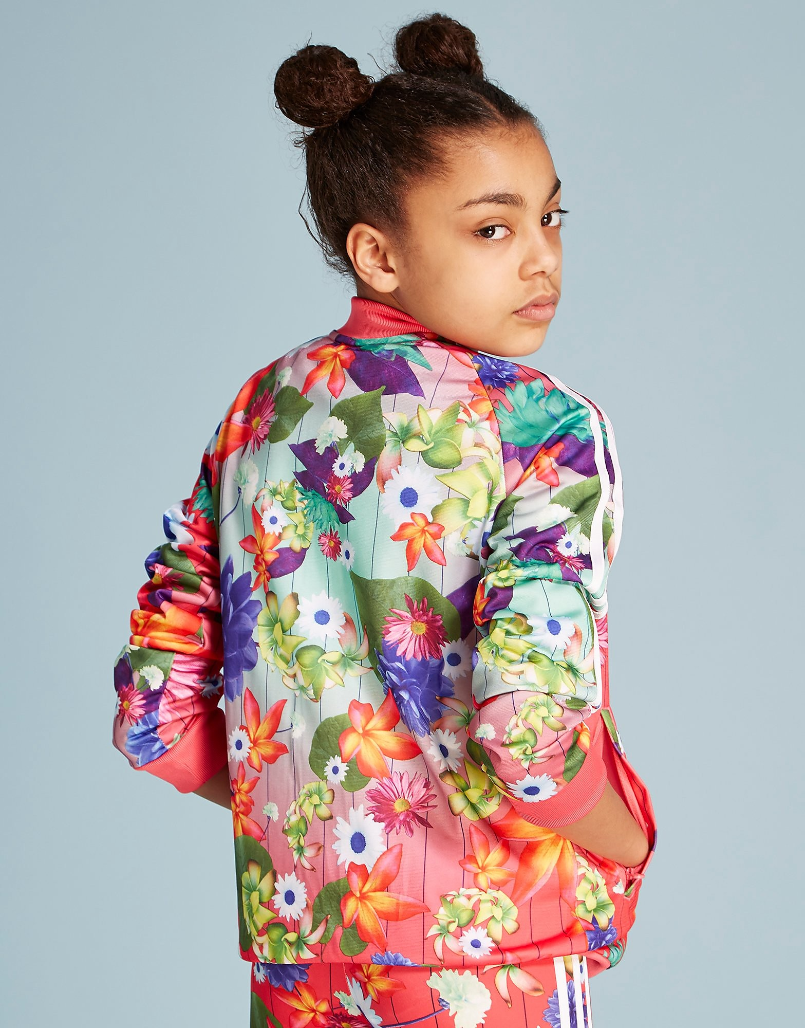 adidas Originals Floral Giacca Sportiva Junior