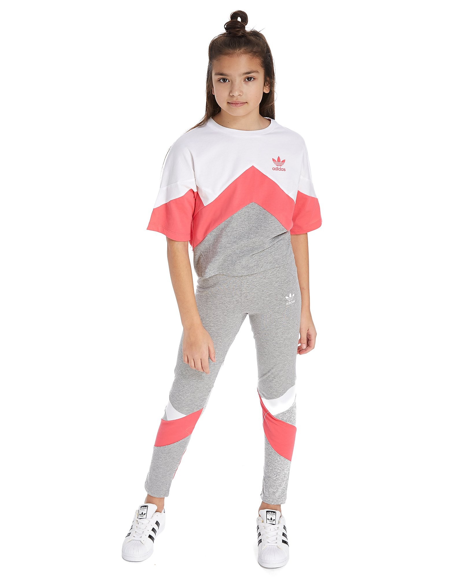 adidas Originals MOA Crop T-Shirt Junior