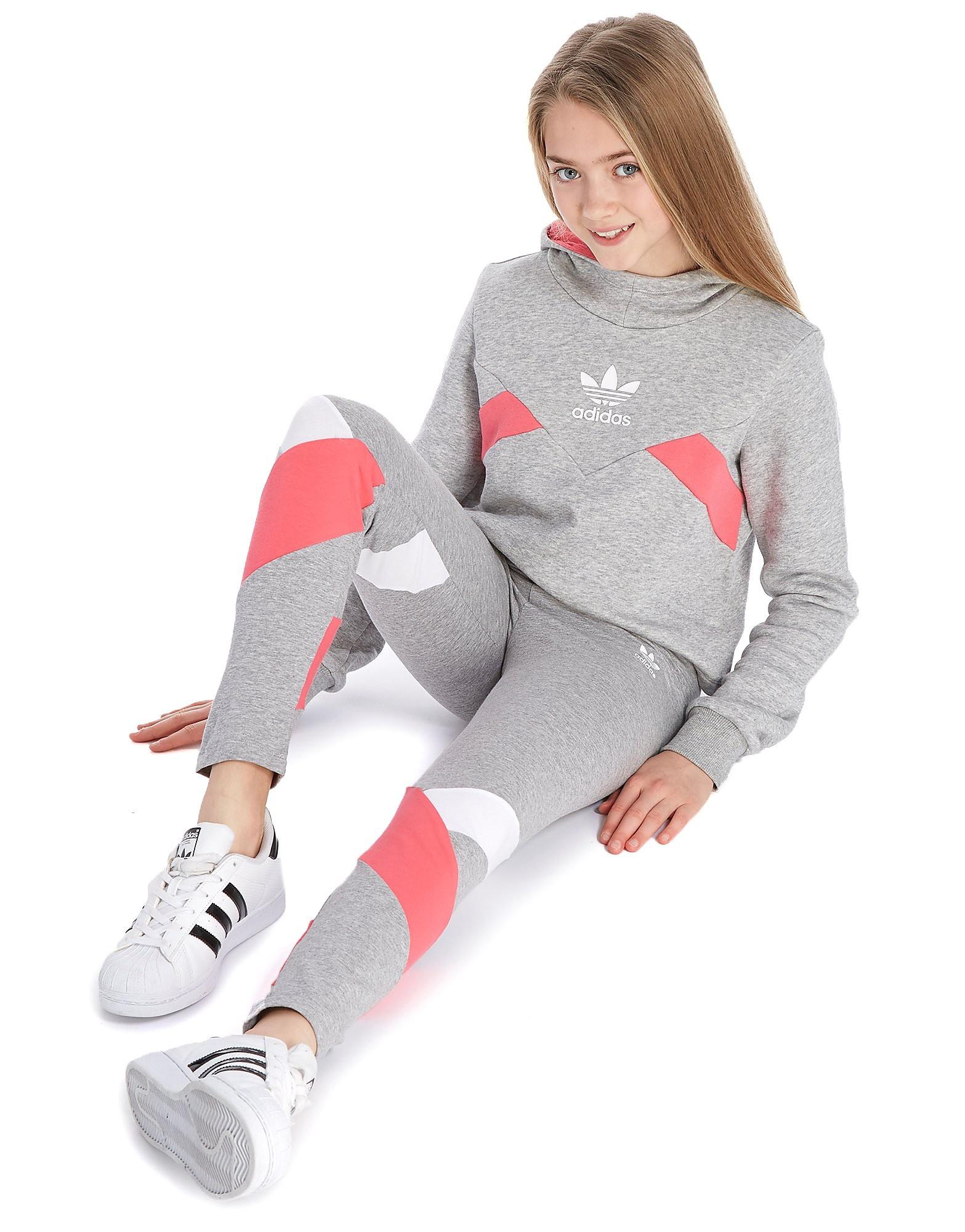 adidas Originals Girls' MOA Logo Leggings Junior