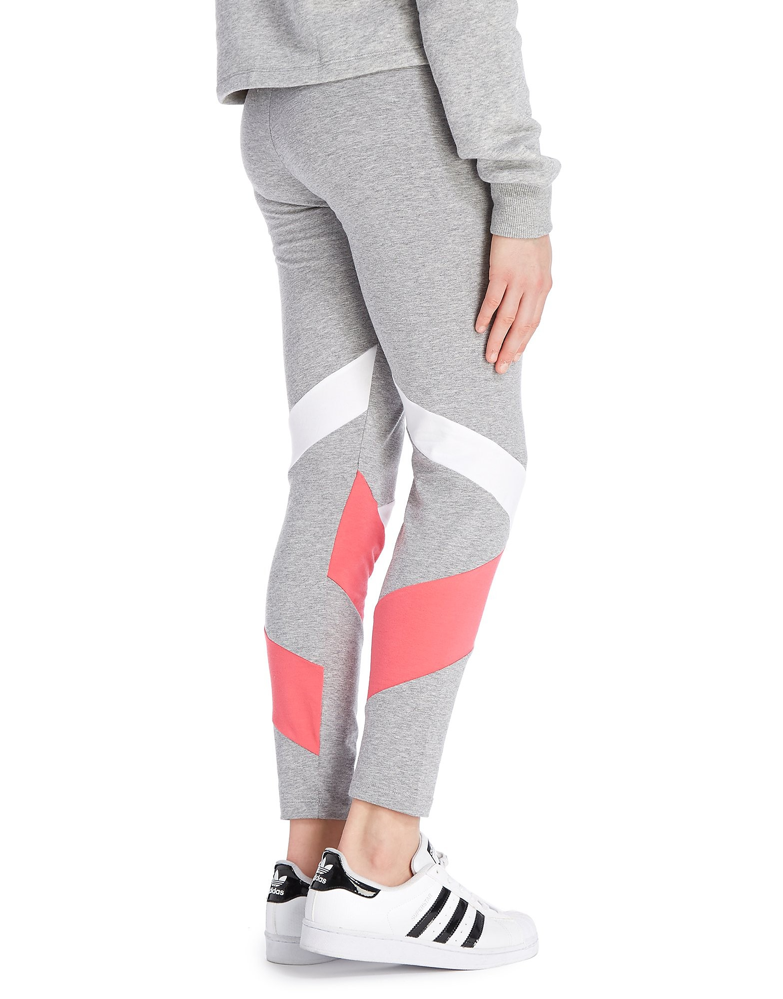 adidas Originals Girls' MOA Logo Leggings Junior