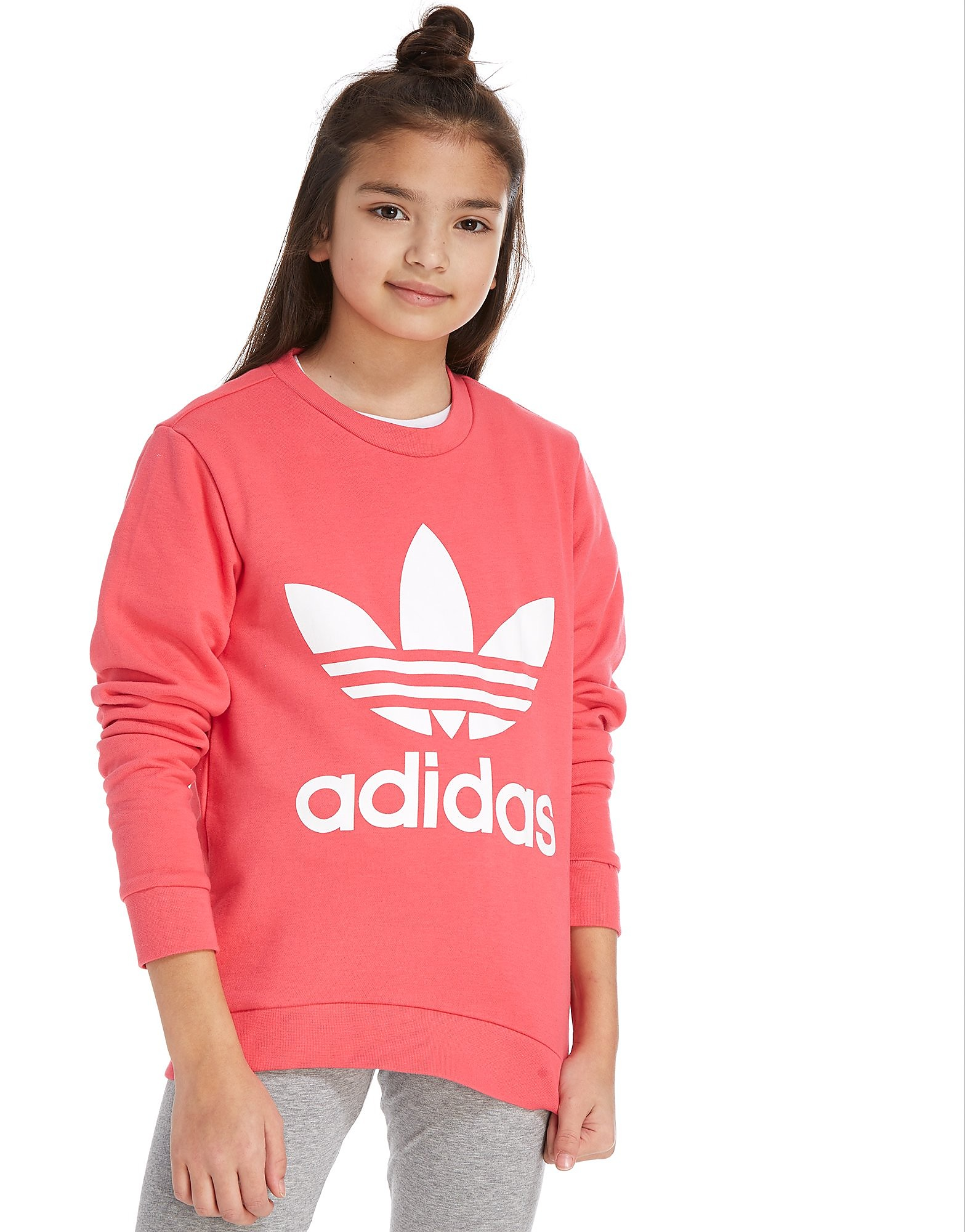 adidas Originals Girls' Crew Sweatshirt Junior