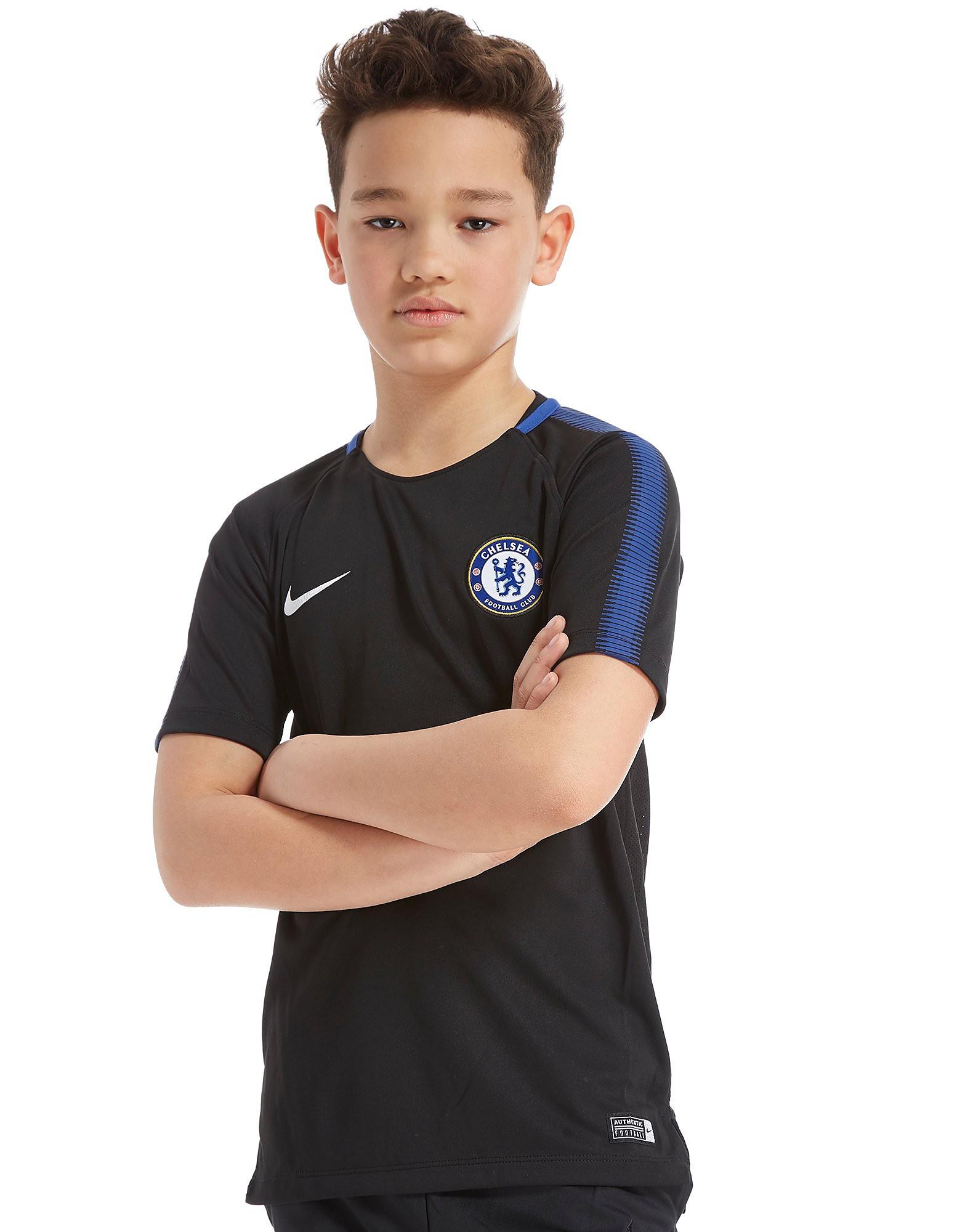 Nike Chelsea FC Squad Trainingsshirt Junior Schwarz-Blau