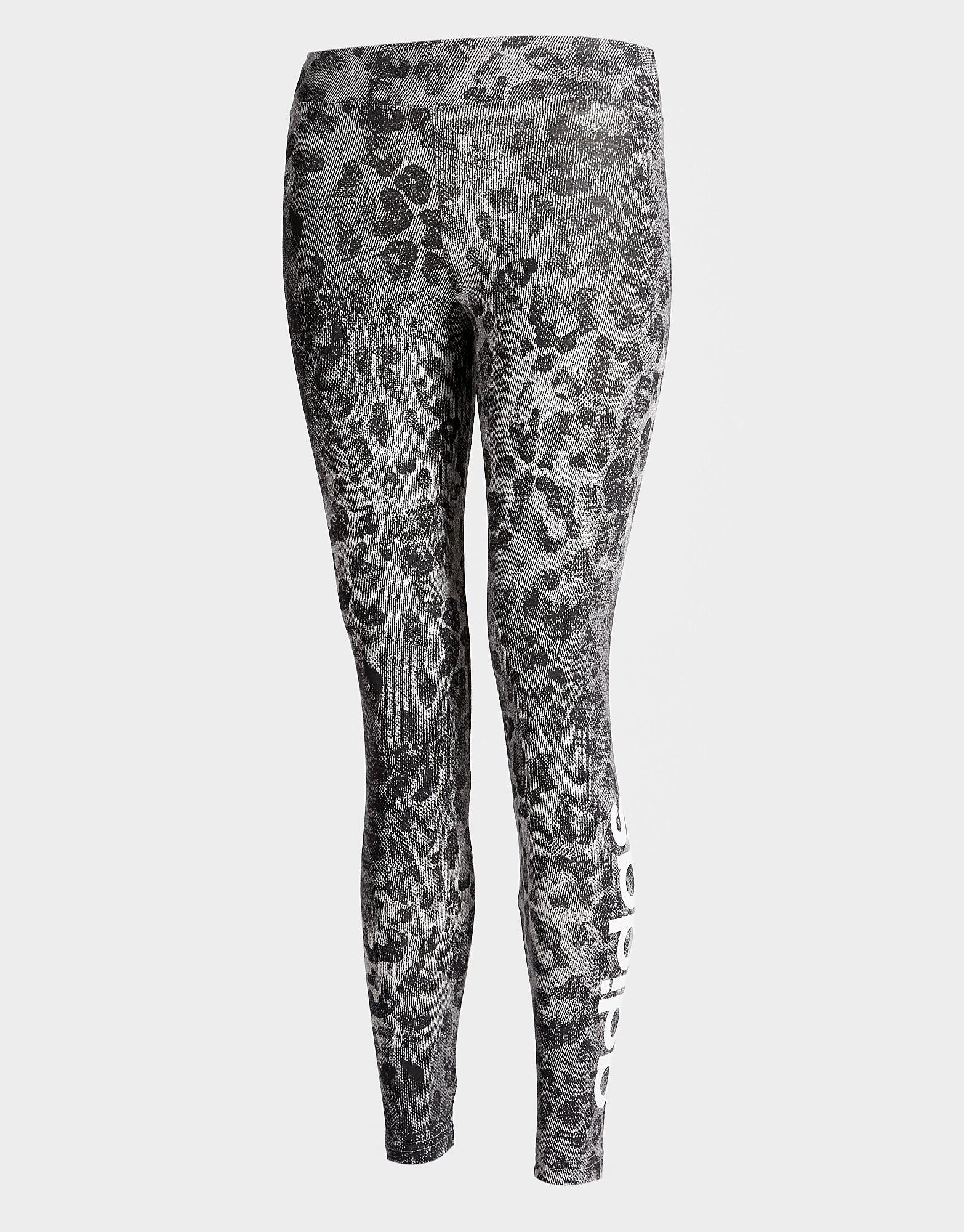 adidas Girls' Leo Linear Tights Junior