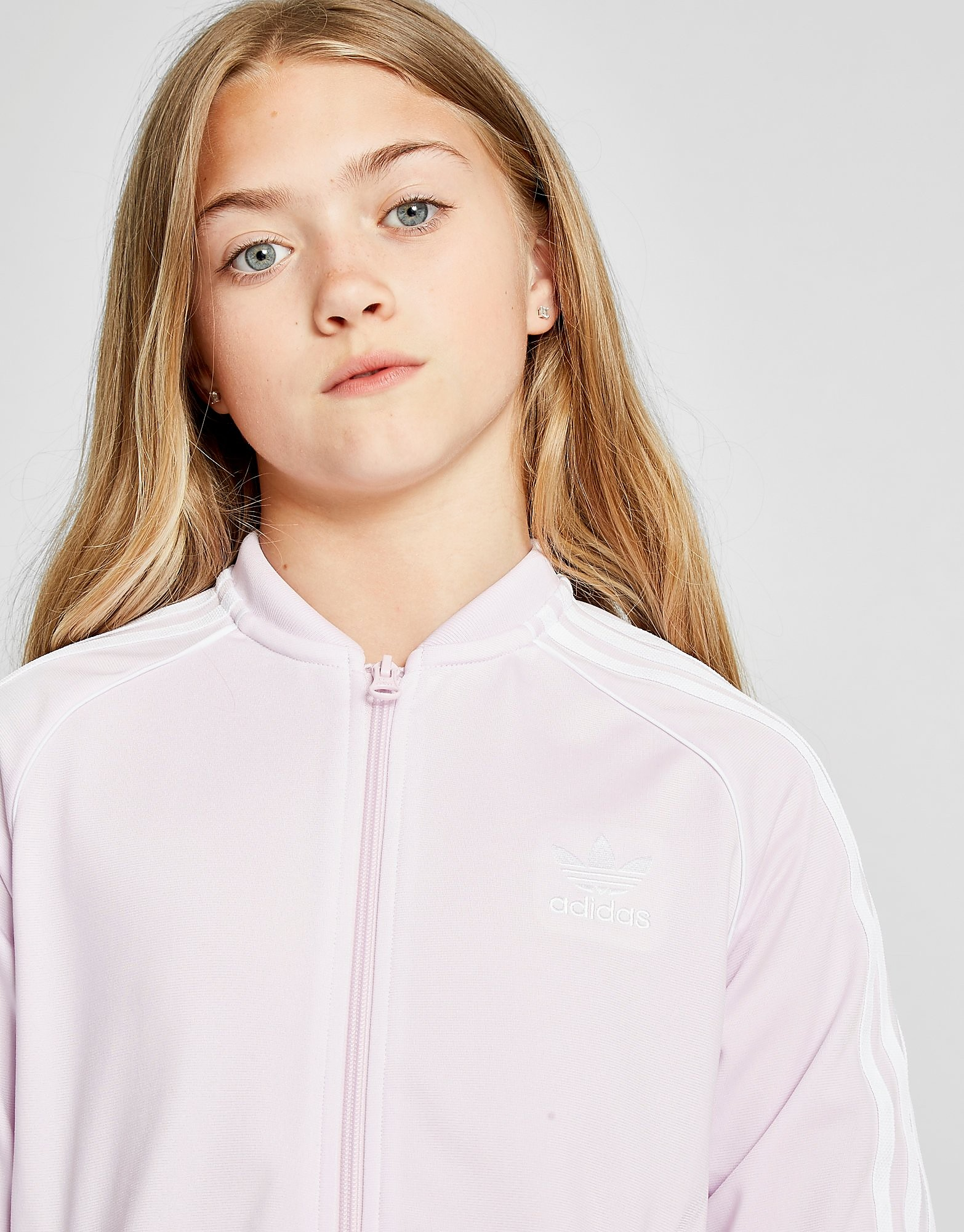 adidas Originals Girls' Superstar Track Top Junior