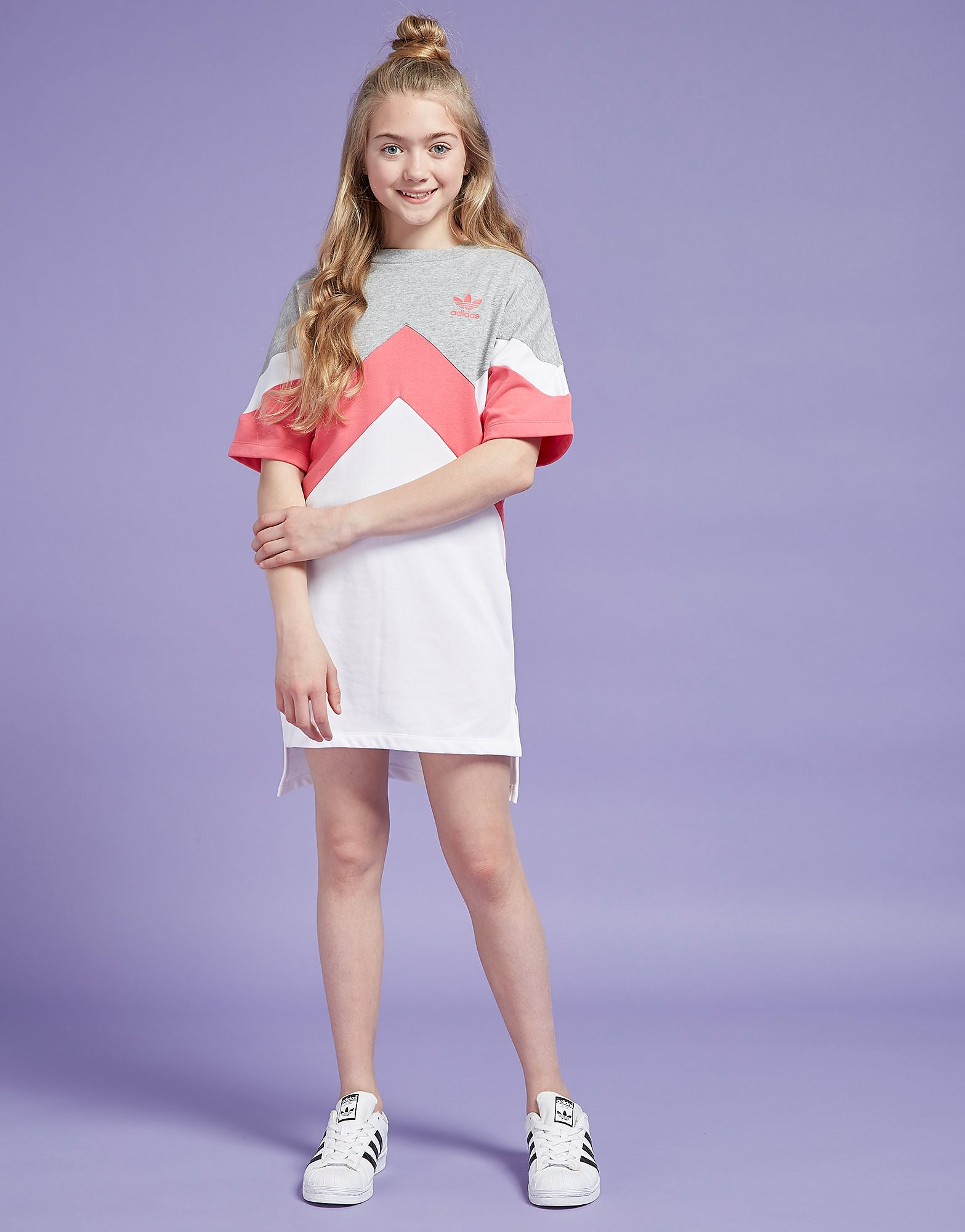 adidas Originals Girls' MOA T-Shirt Dress Junior