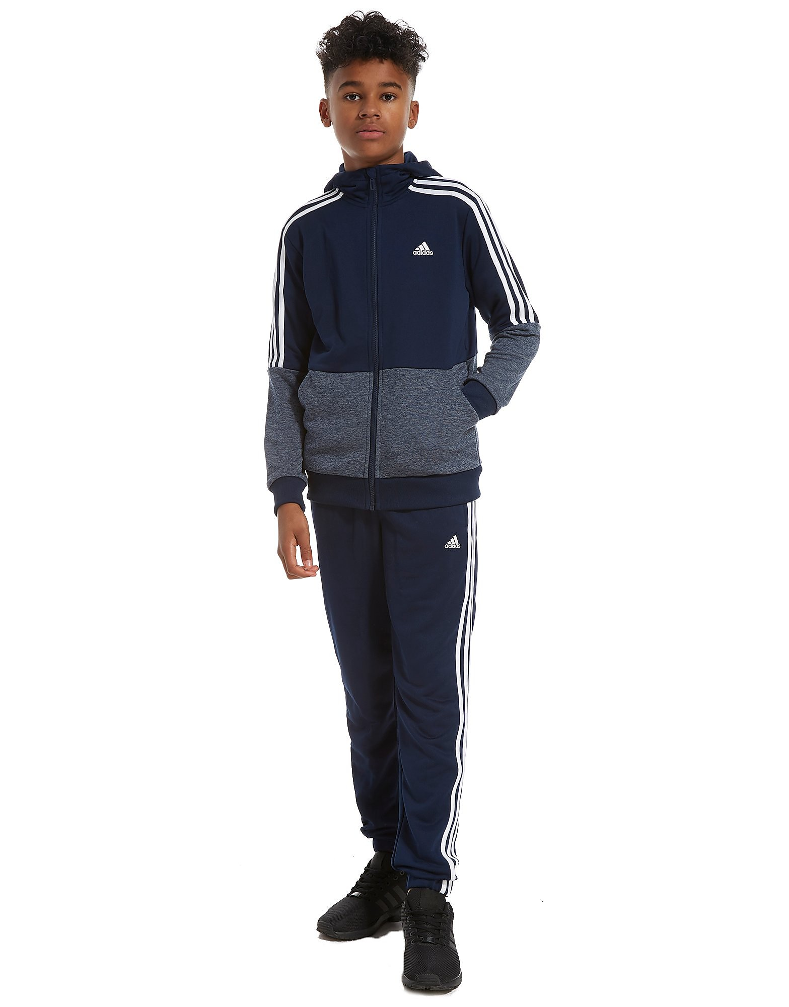 adidas Poly Marl Tracksuit Junior