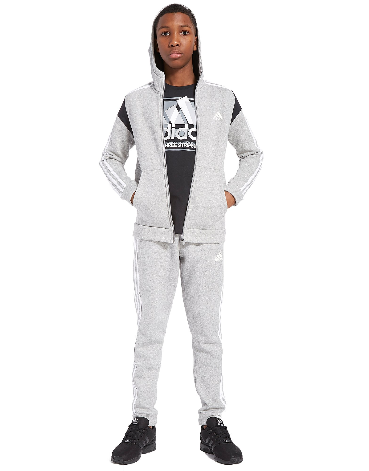 adidas Hojo Fleece Tracksuit Junior