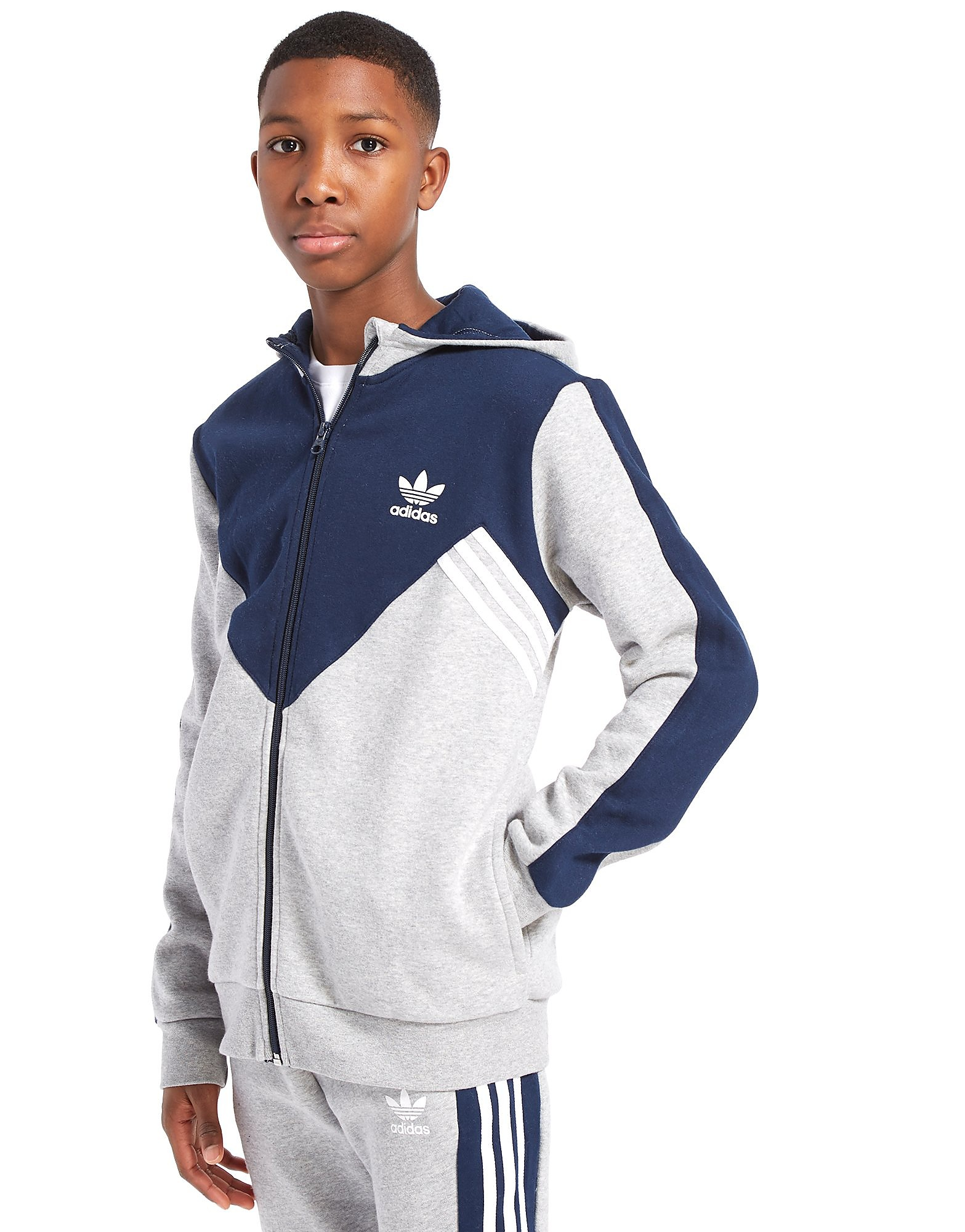 adidas Originals MOA Full Zip Hoodie Junior