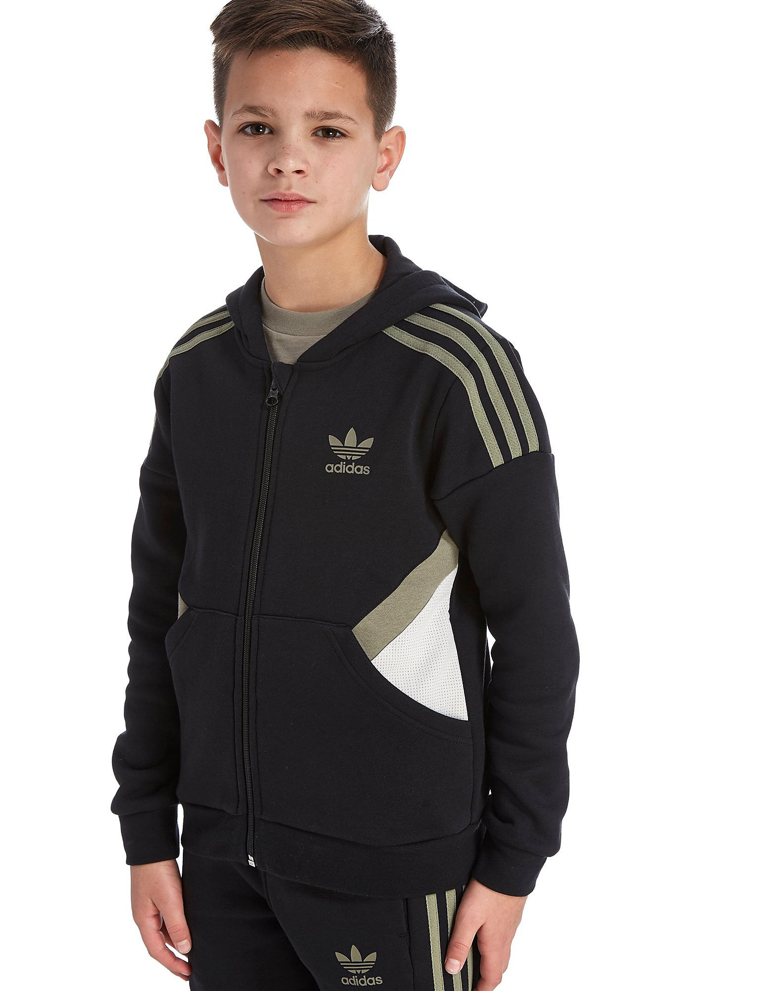 adidas Originals Europe Felpa con Zip Junior