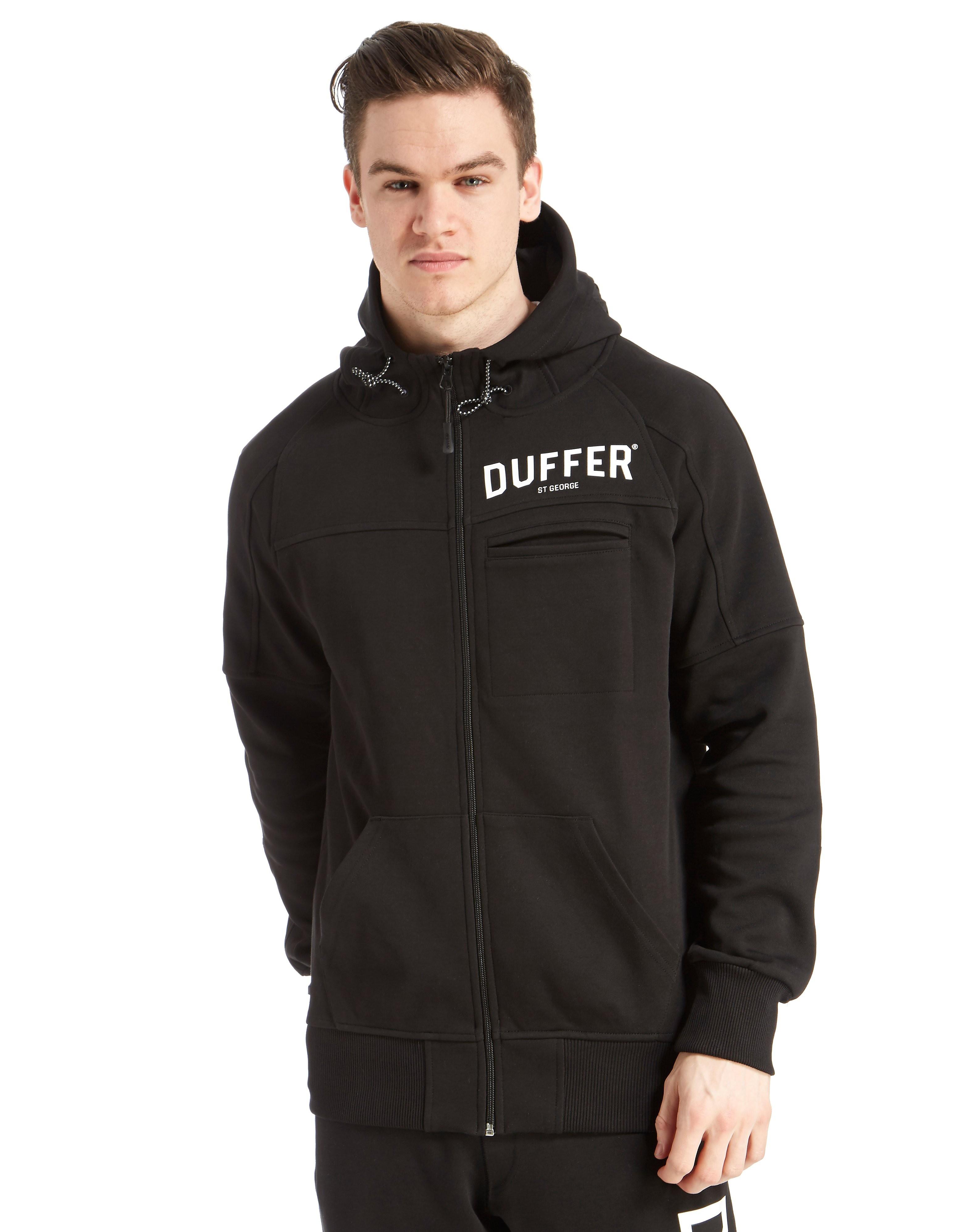 Duffer of St George Black Label Sigma Full Zip Hoody
