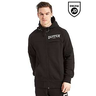 Duffer of St George Black Label Sigma Full Zip Hoody