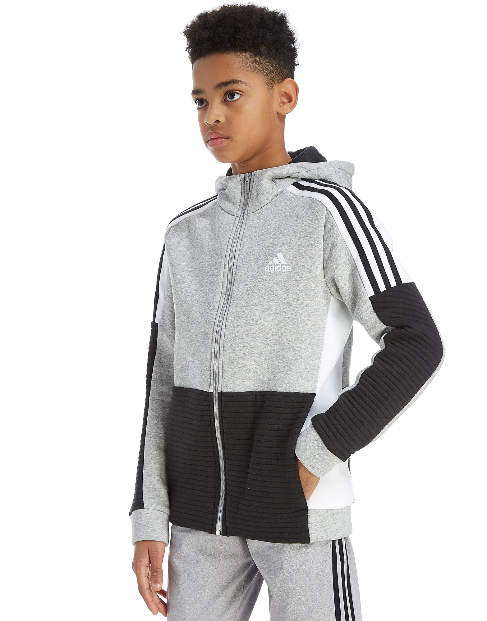 adidas Sports Full Zip Hoodie Junior