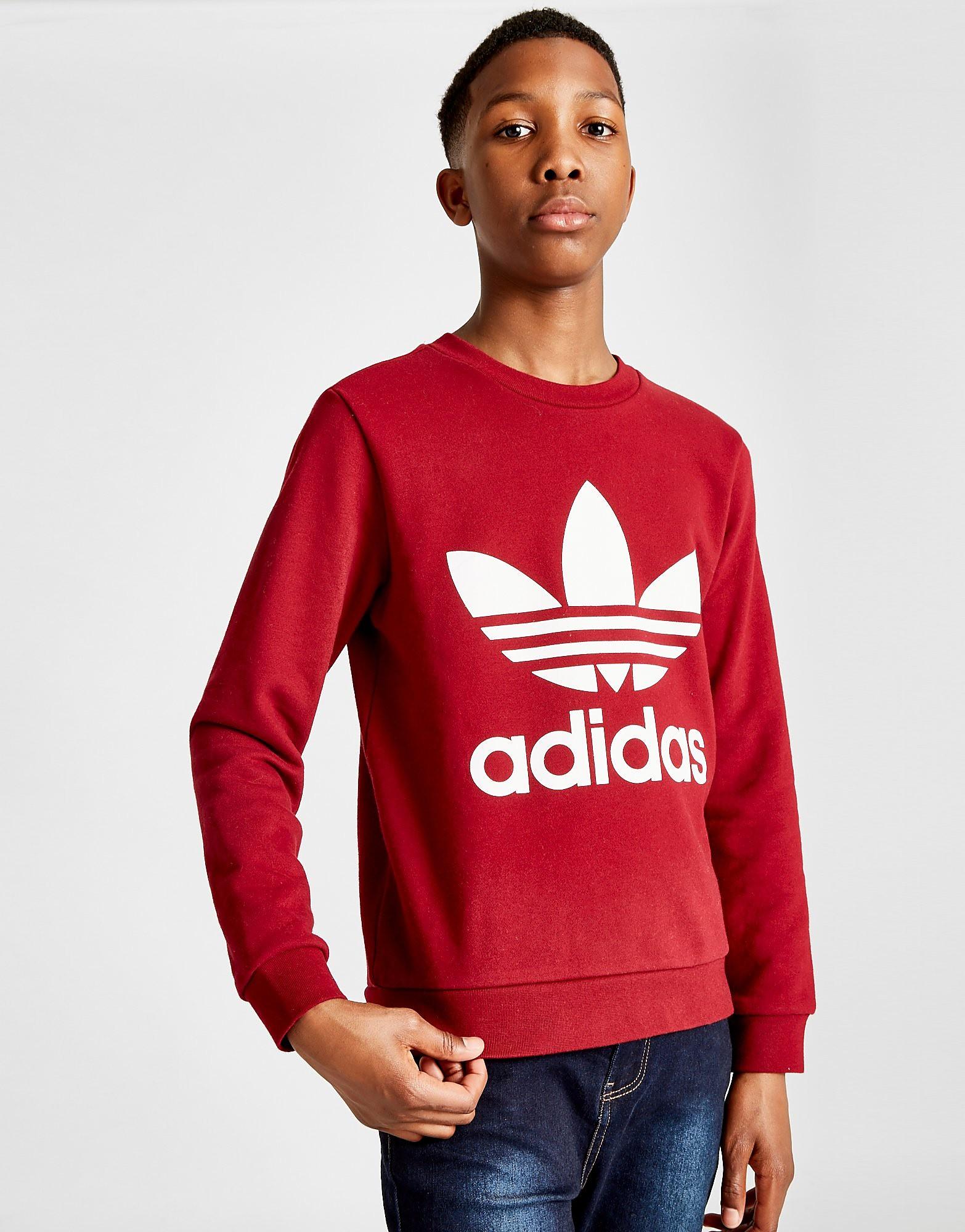 adidas Originals suéter Adicolor Crew júnior