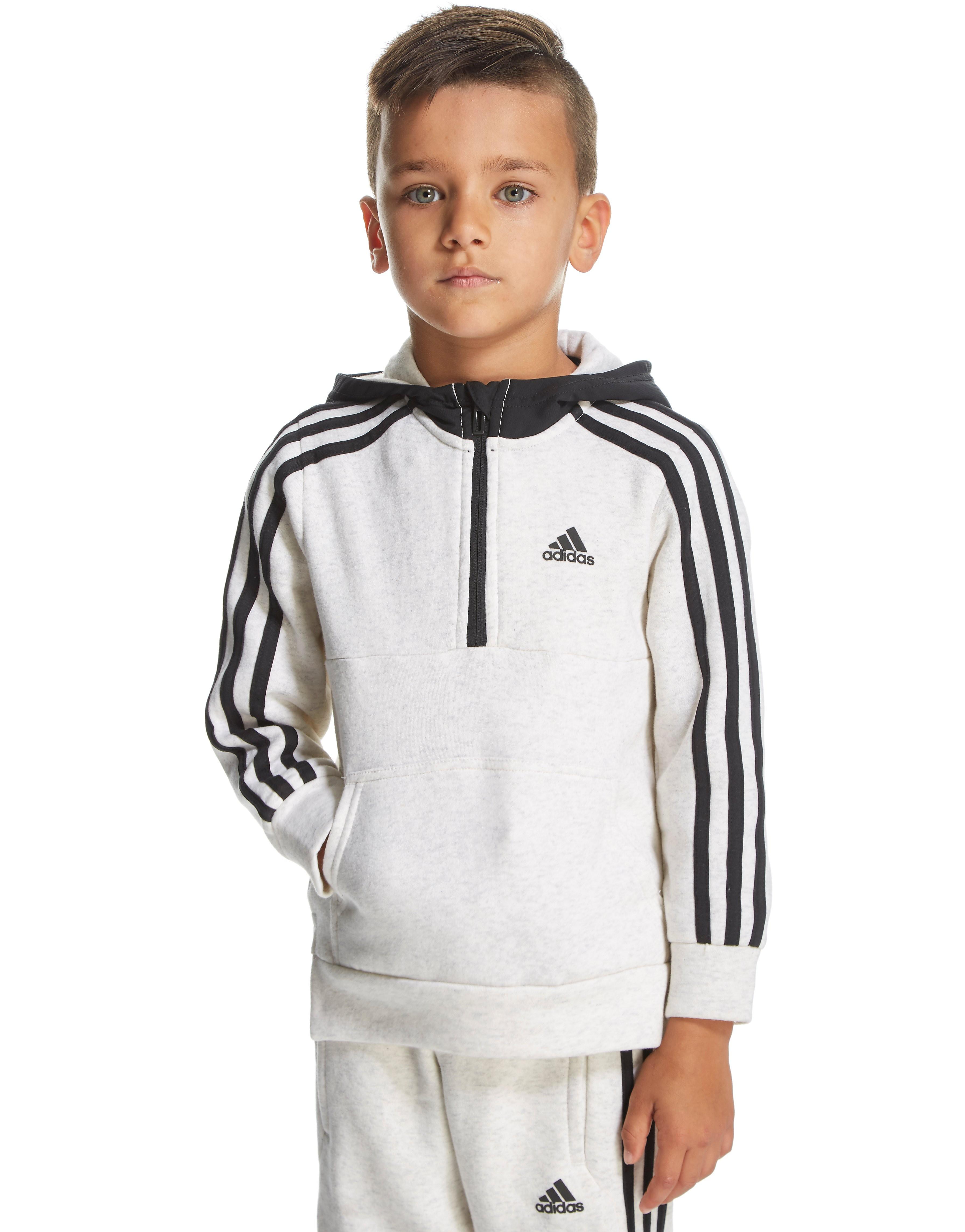 adidas Linear Half Zip Hoody Children