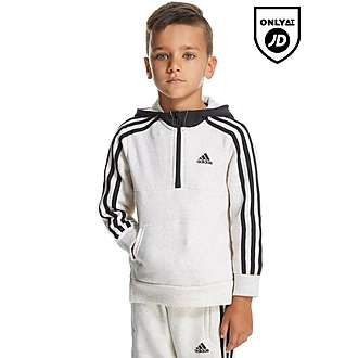 adidas Linear Half Zip Hoody Children