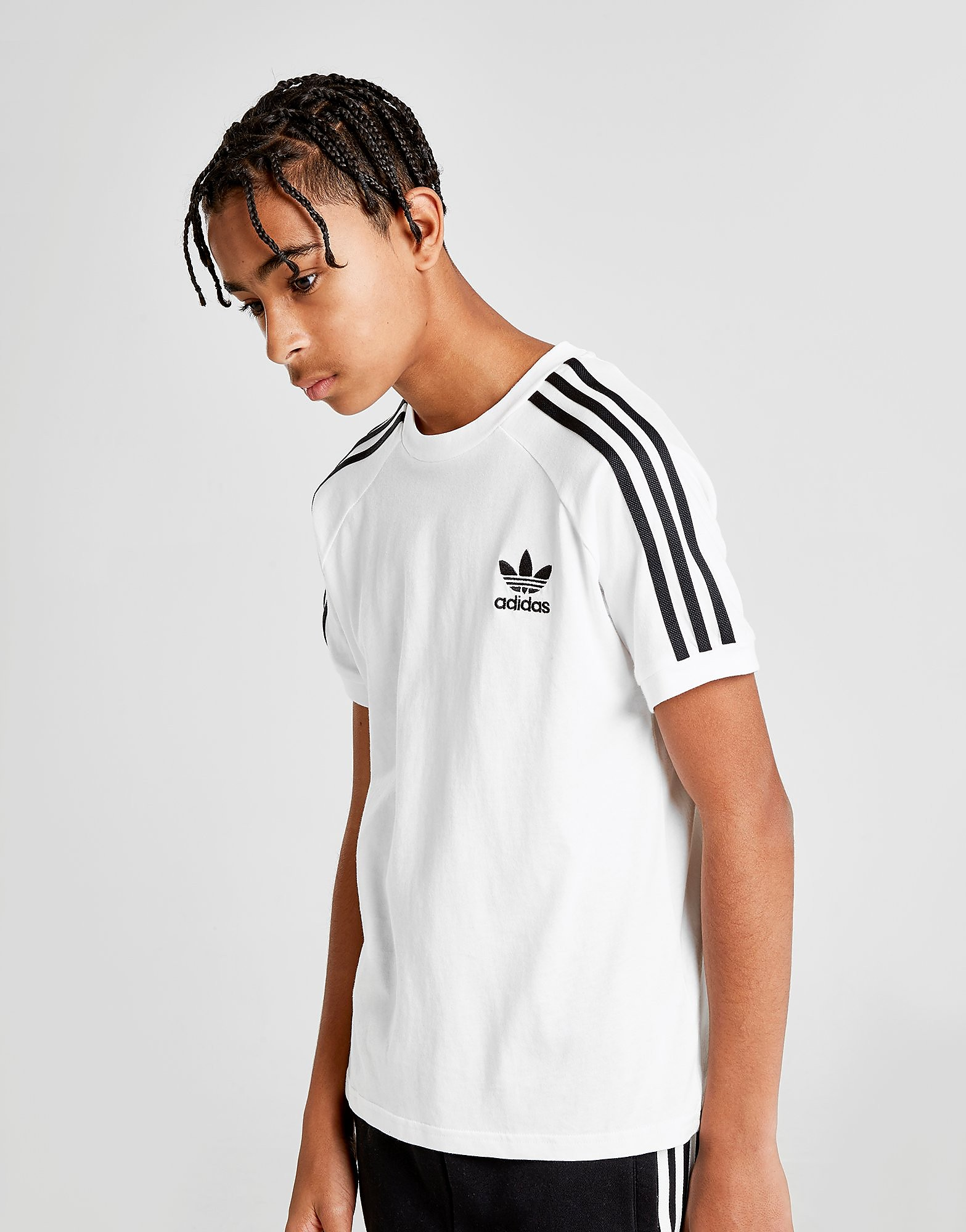adidas Originals California T-Shirt Junior - Wit - Kind