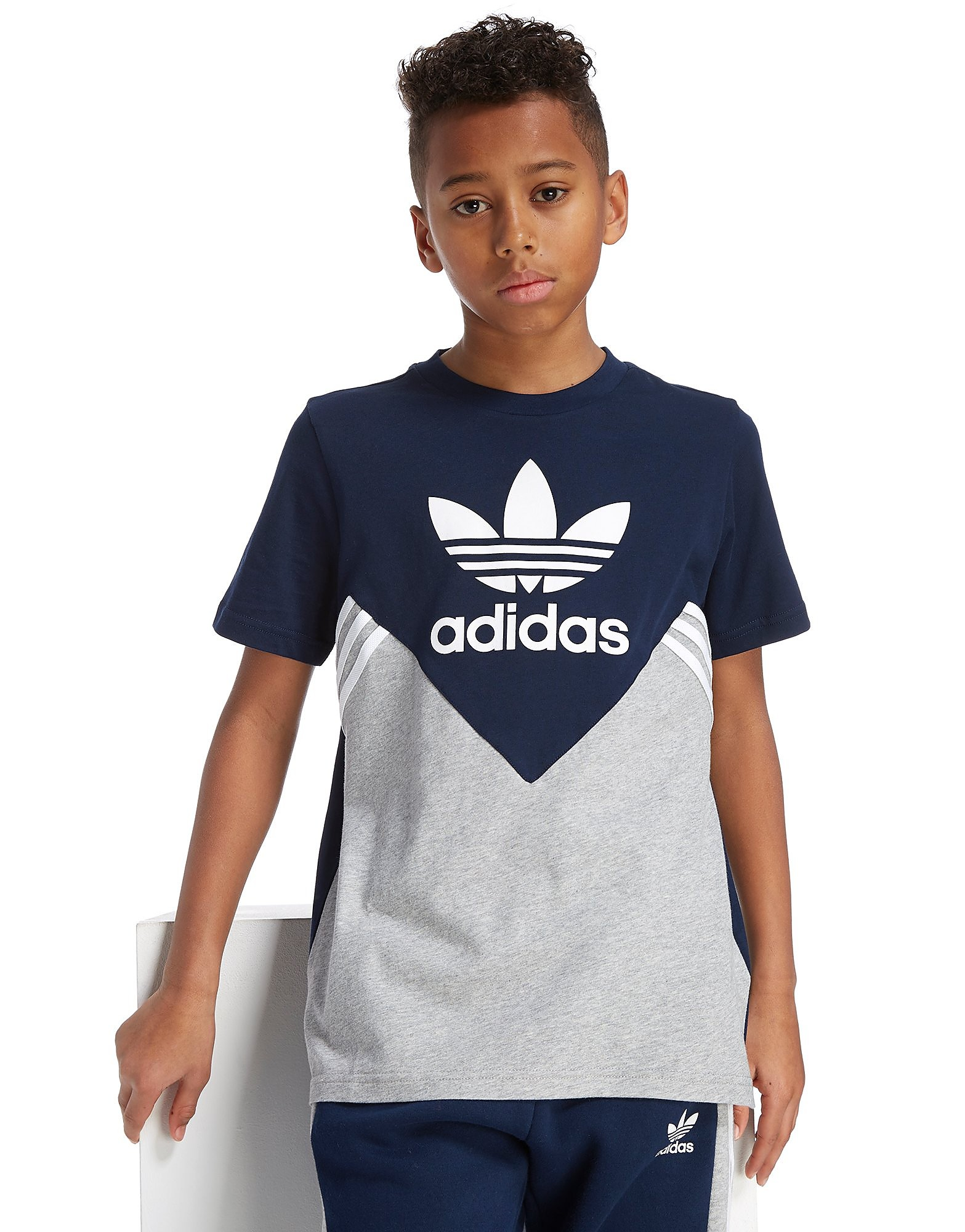 adidas Originals MOA Colourblock T-Shirt Junior