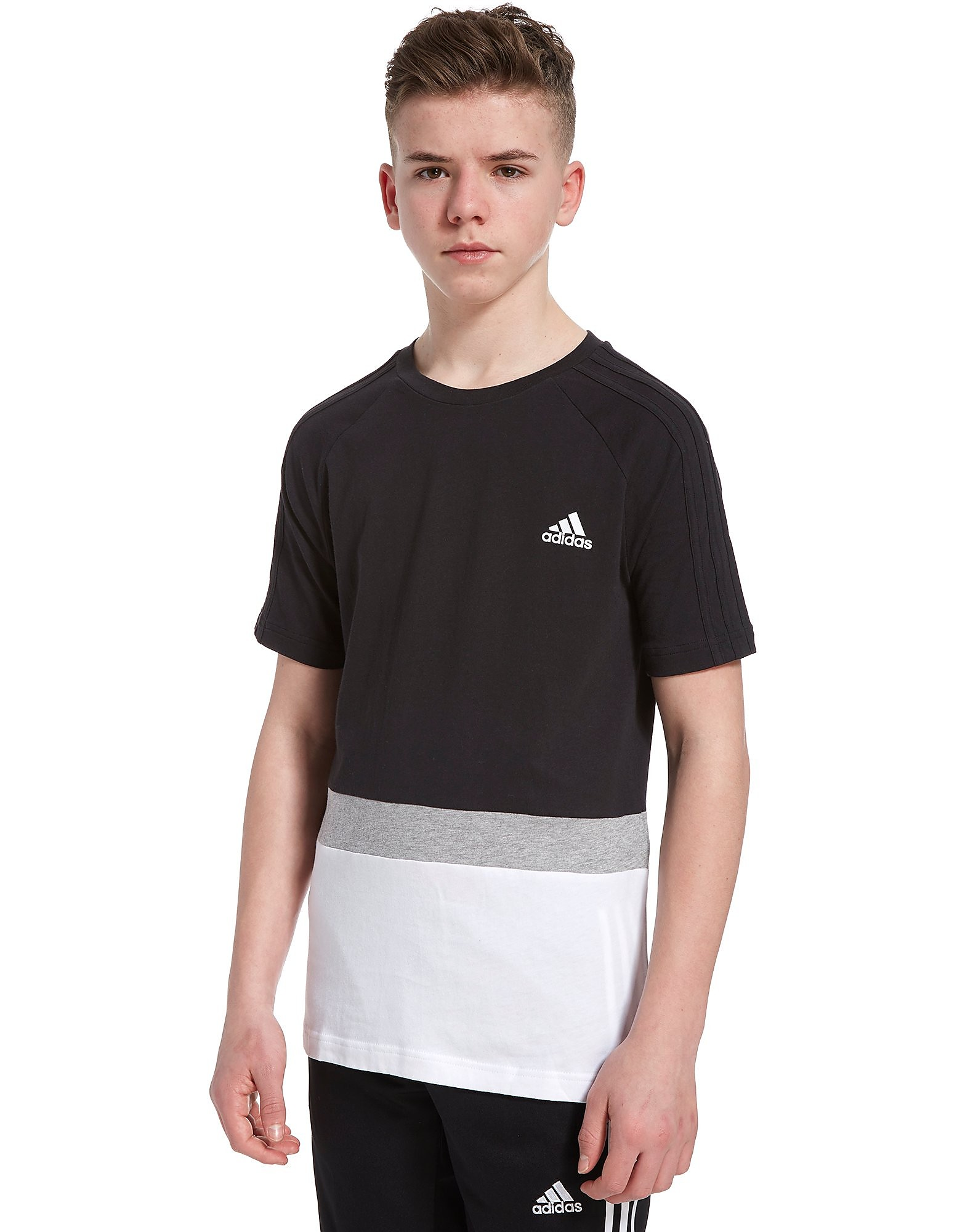 adidas Sport Colourblock T-Shirt Junior