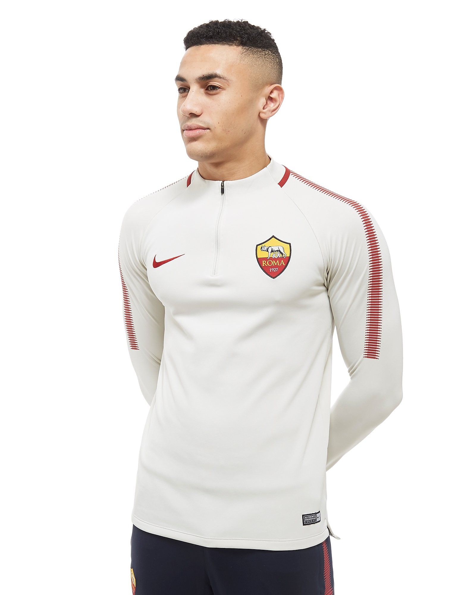Nike Roma Squad Drill 1/4 Zip Football Top Heren