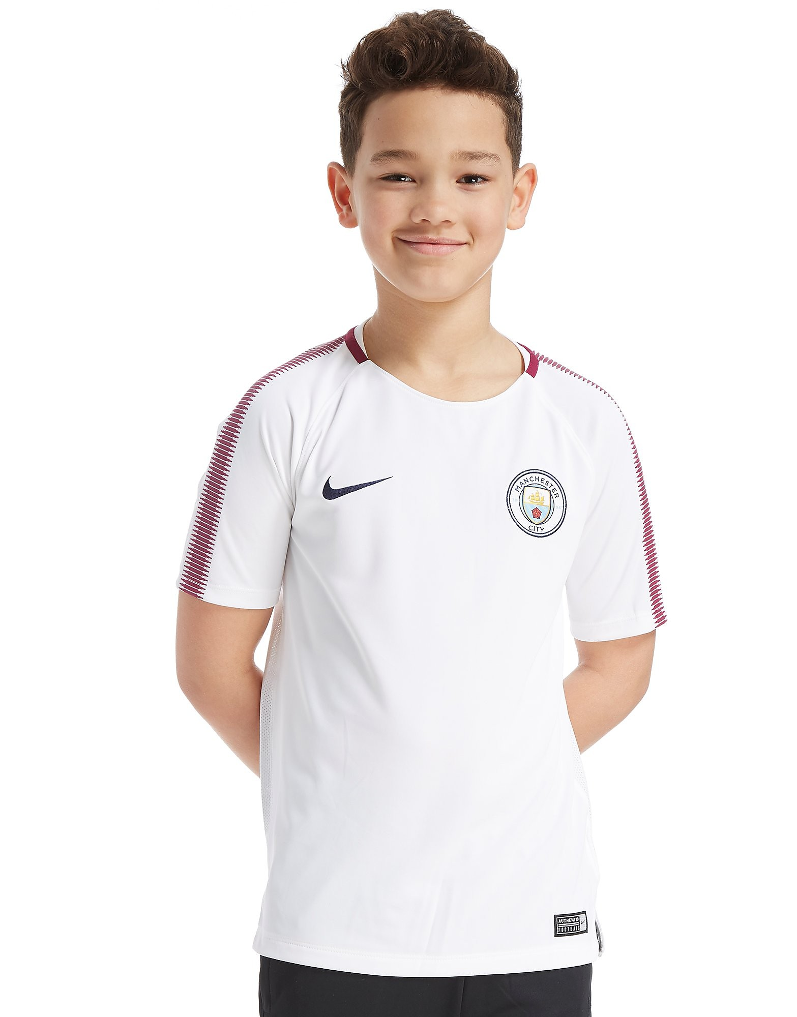 Nike Manchester City FC Squad Training Shirt Junior