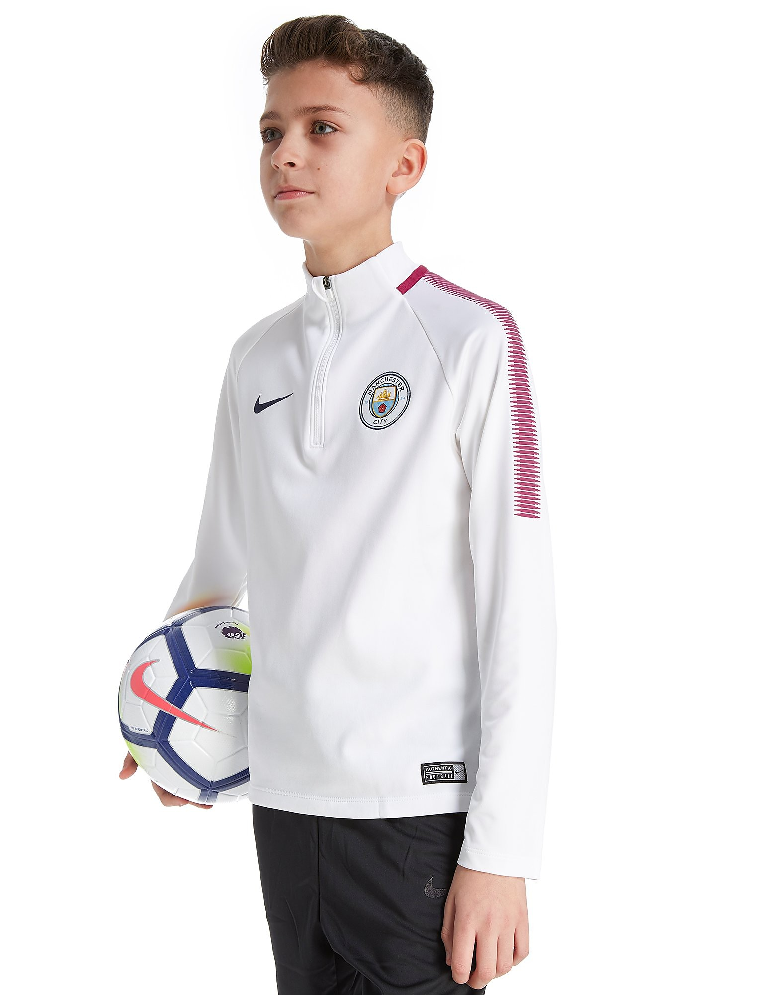 Nike Manchester City FC Squad Drill Top Junior
