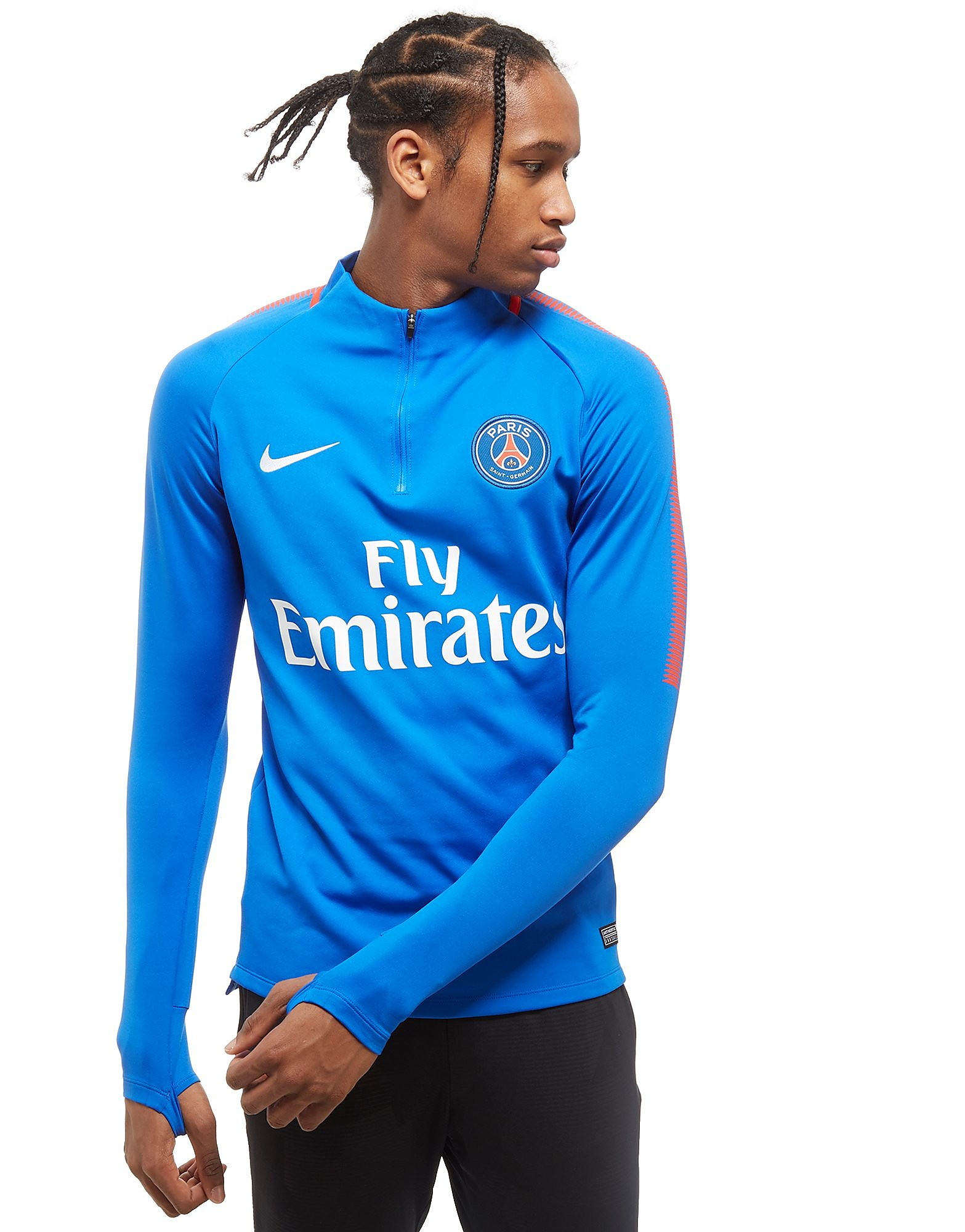 Nike PSG Squad Drill 1/4 Zip Football Top
