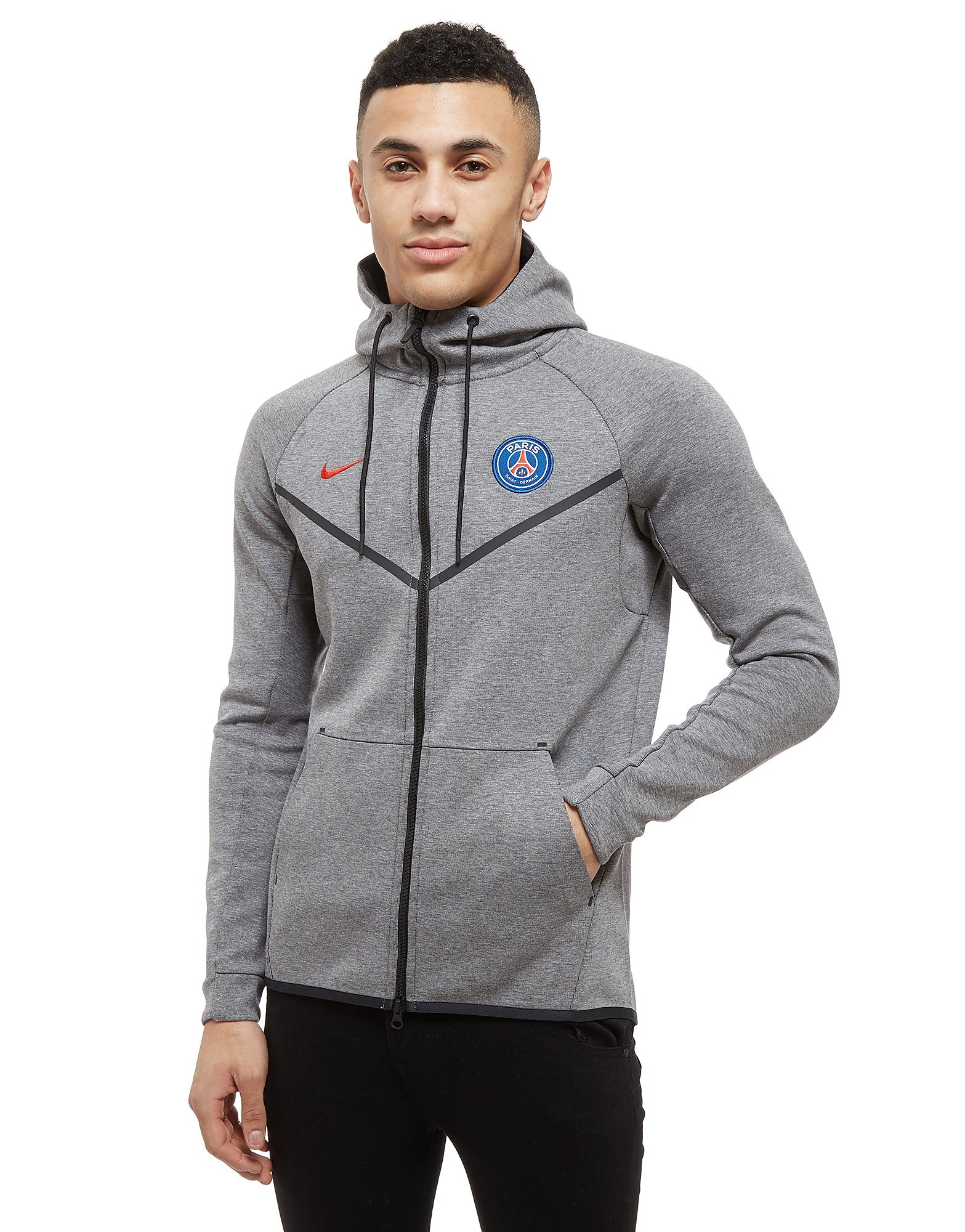 Nike Paris Saint Germain Tech Fleece Hoodie Heren