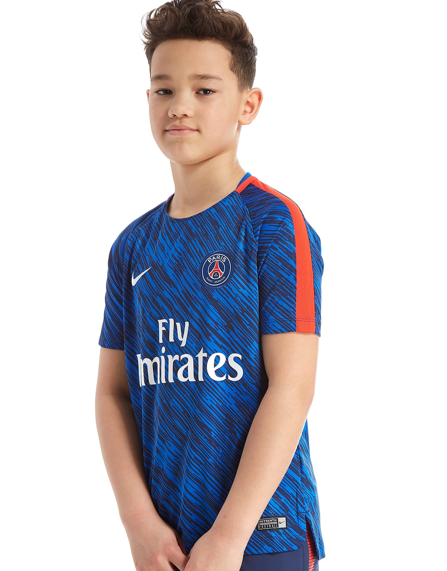 Nike Paris Saint Germain Squad Pre Match Shirt Junior