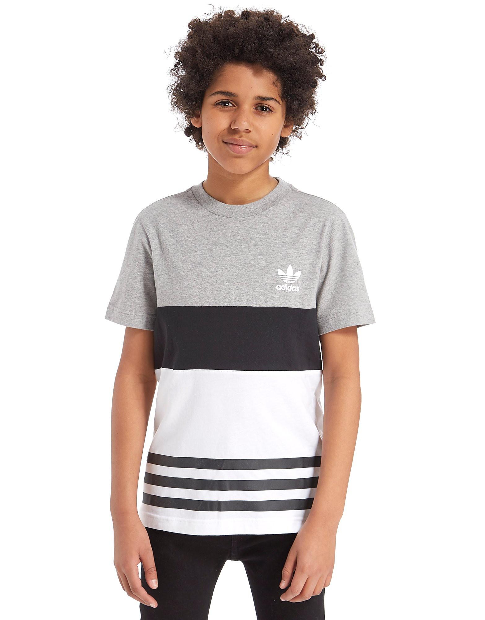 adidas Originals Colour Block T-Shirt Junior