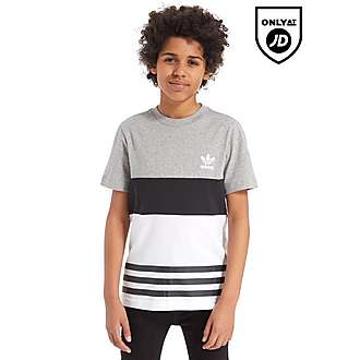 adidas Originals Colour Block T-Shirt Junior