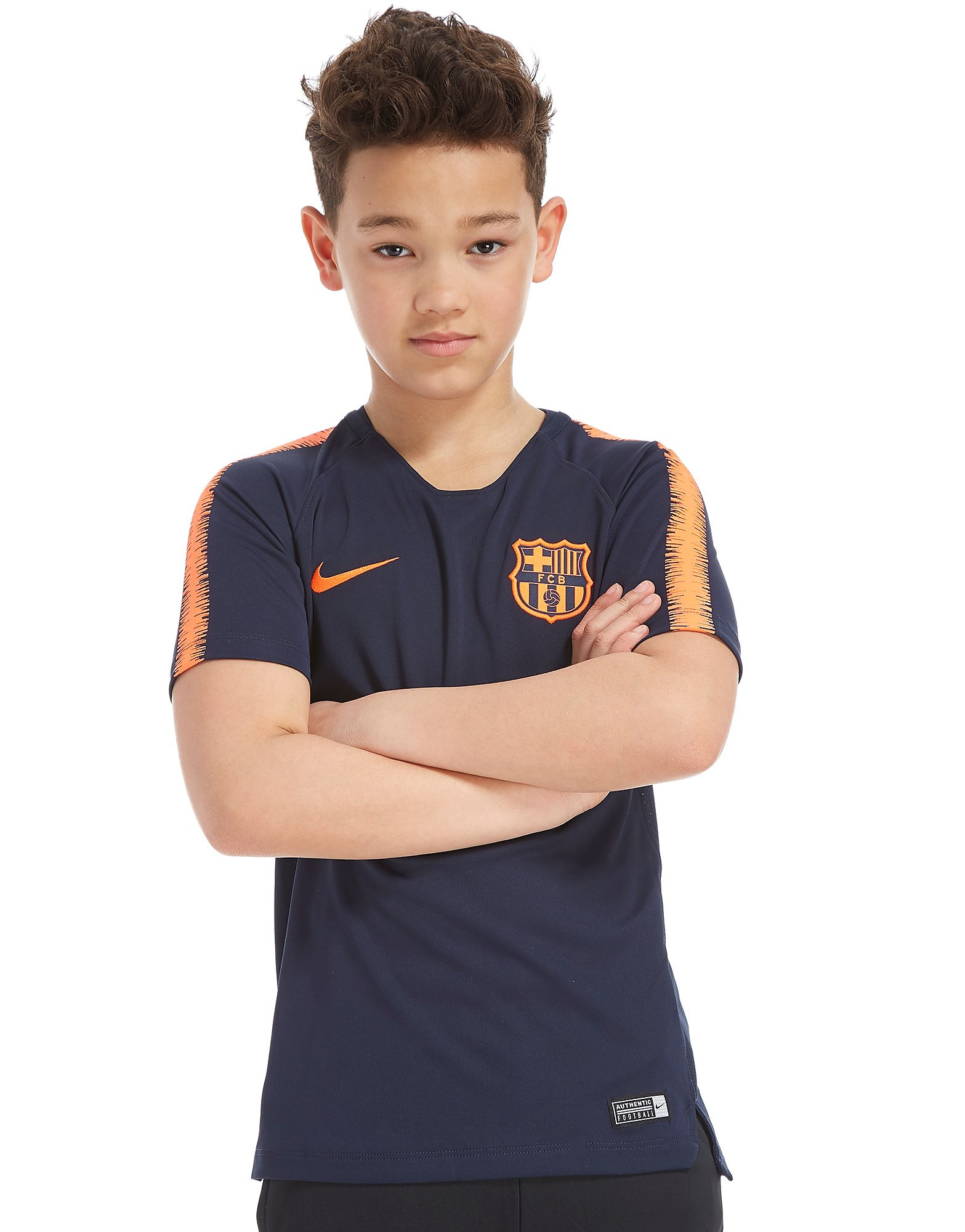Nike FC Barcelona Squad Training Shirt Junior