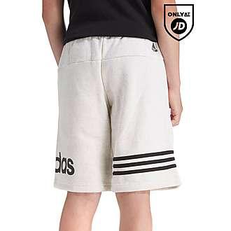 adidas Linear Fleece Shorts Junior