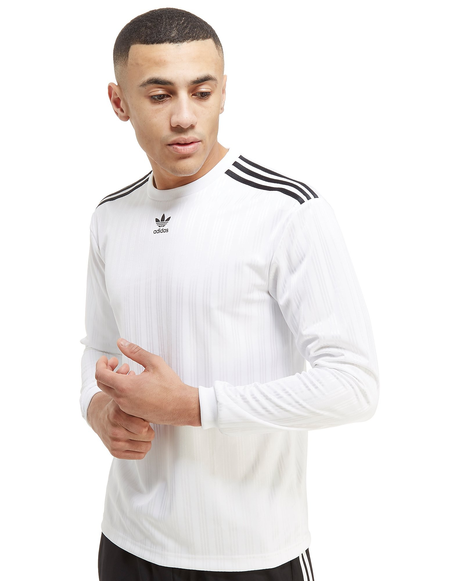 adidas Originals Trefoil Football Long Sleeve T-Shirt