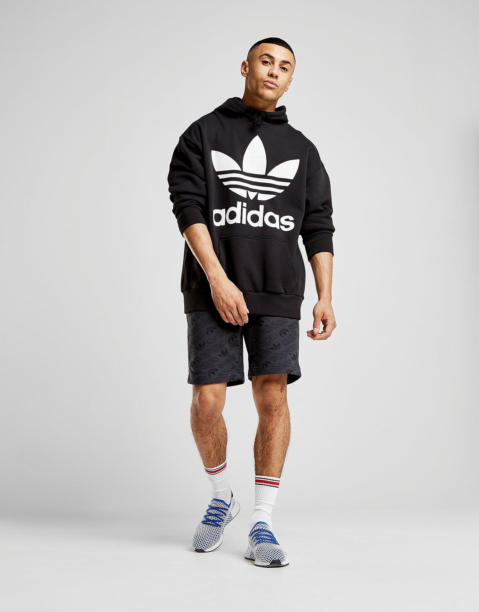 adidas Originals Trefoil Oversized Hoodie