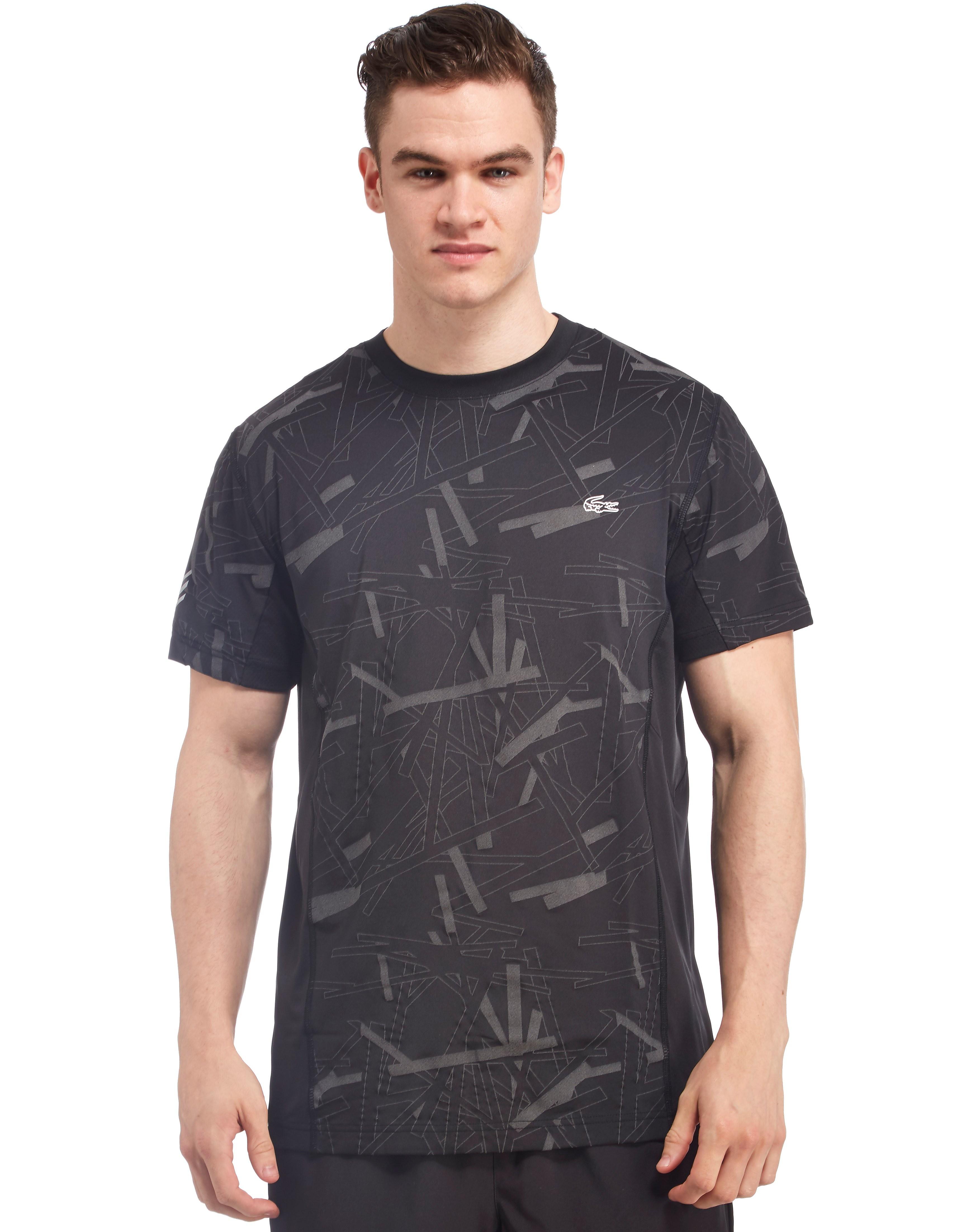 Lacoste Tennis Print Stretch T-Shirt