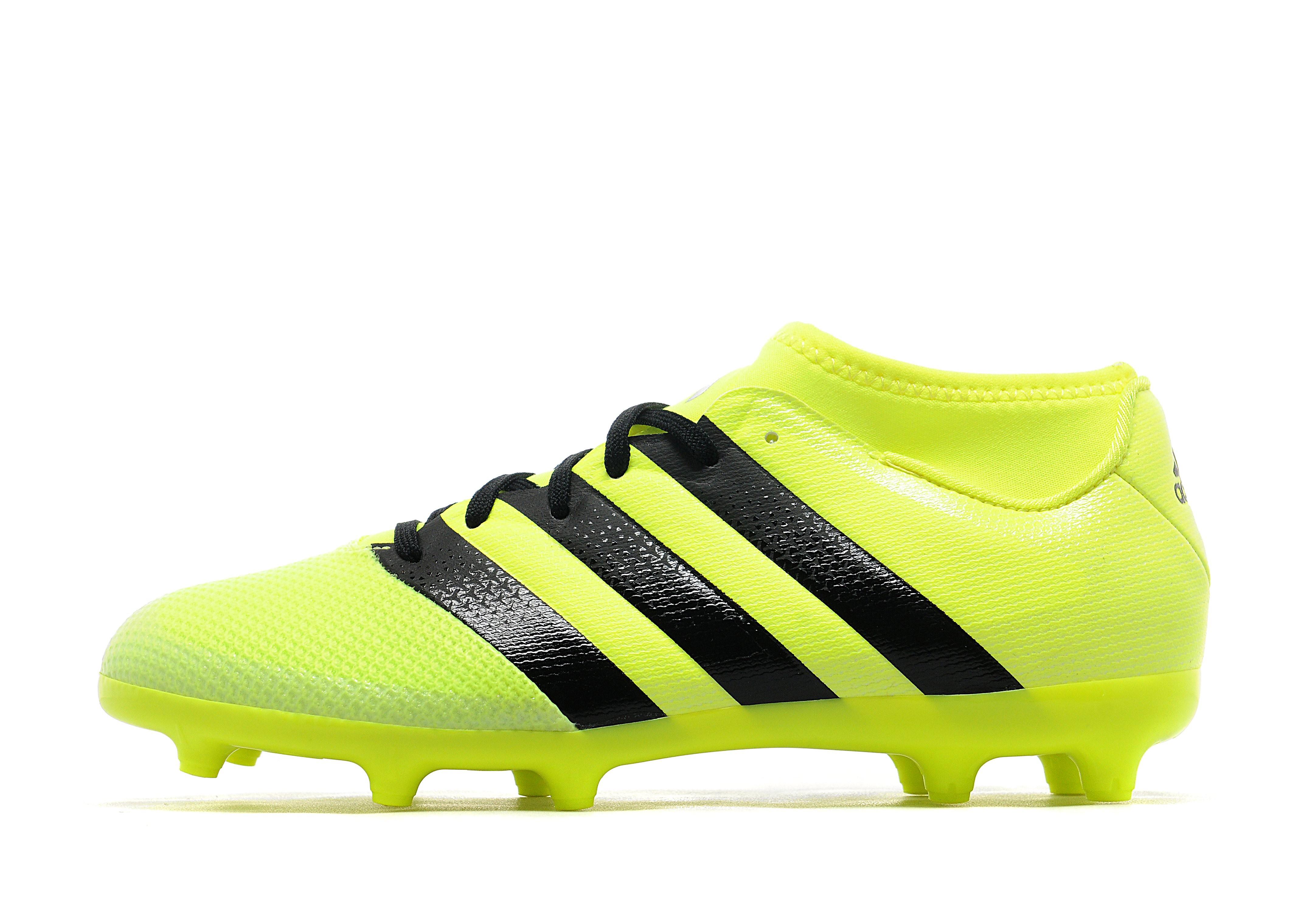 adidas Ace 16.3 Primemesh FG Junior - Yellow - Kids - Sports King Store c0c89b9a93168