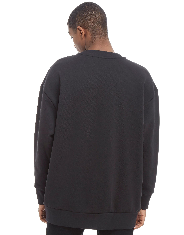 adidas Originals Trefoil Oversized Crew Sweatshirt