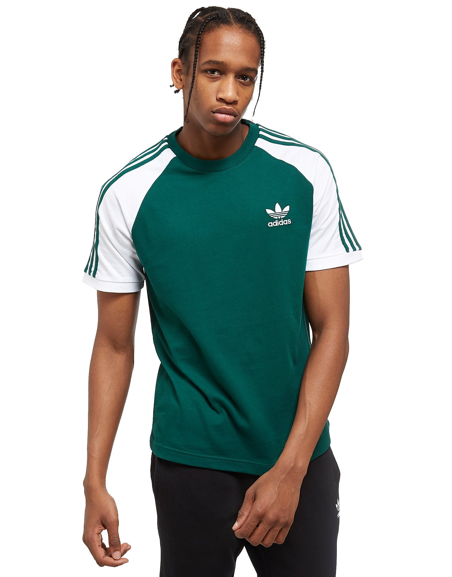 adidas Originals California Raglan Sleeve T-Shirt Heren