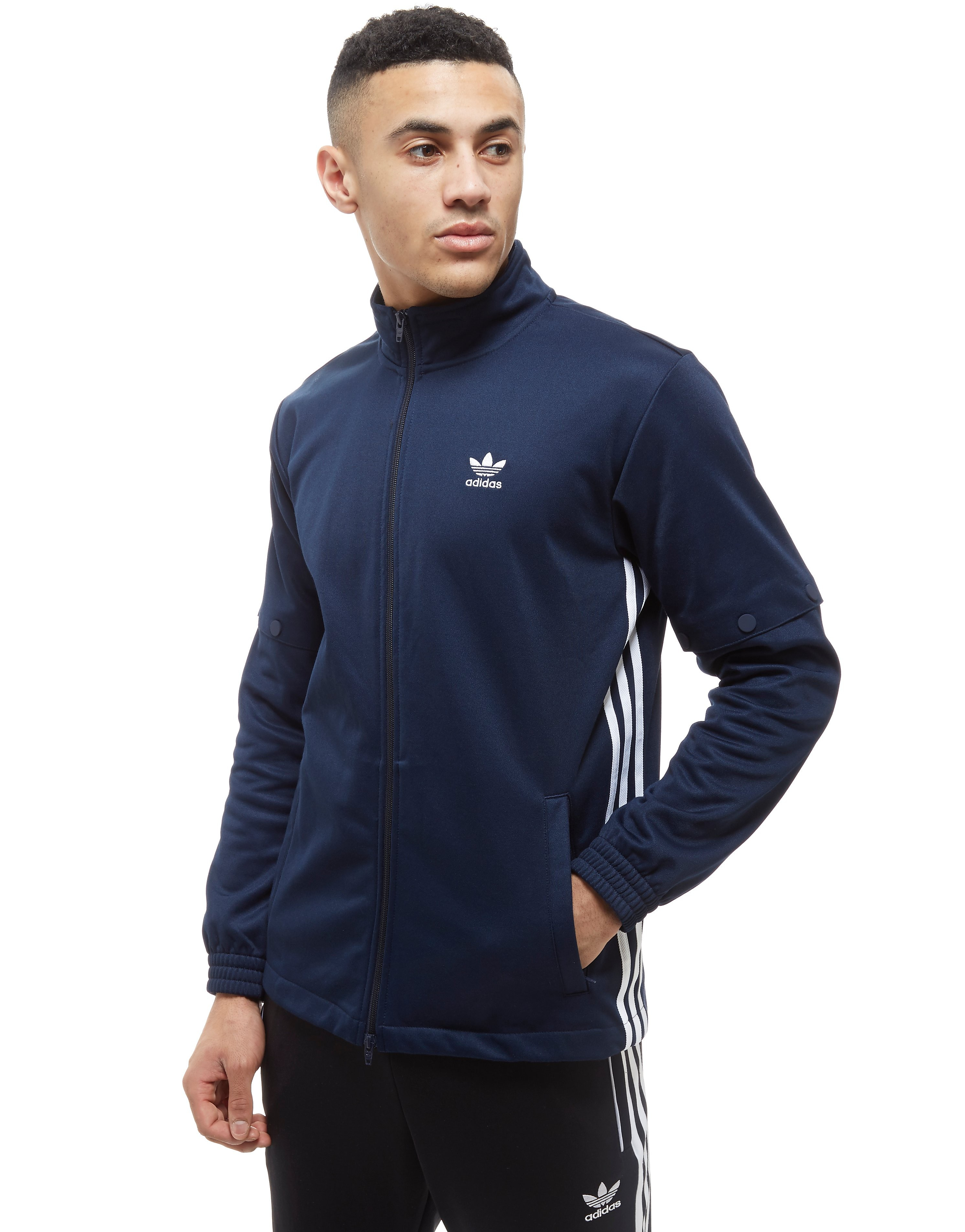 adidas Originals Trefoil Snap Track Top