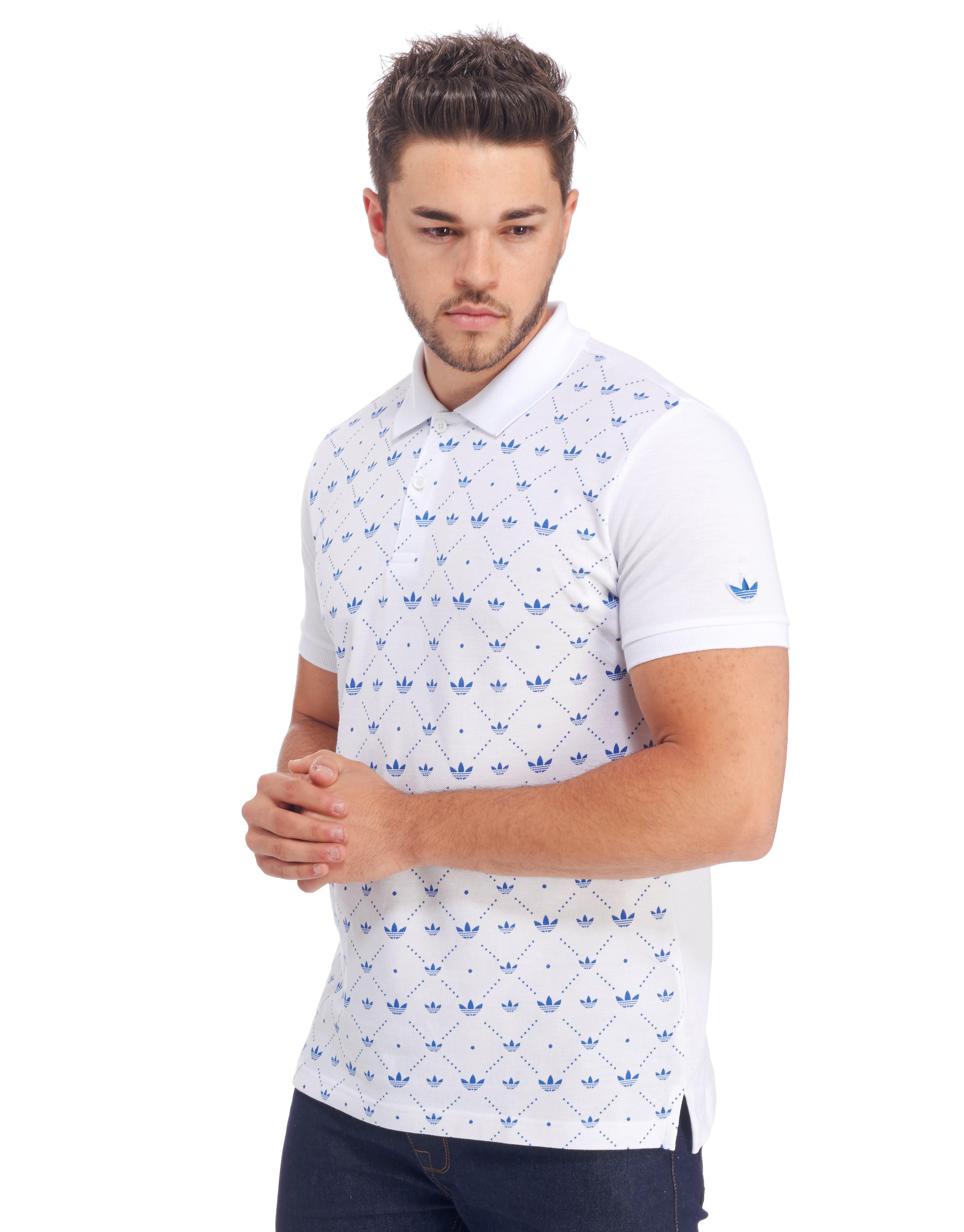 adidas Originals All-Over Print Polo Shirt