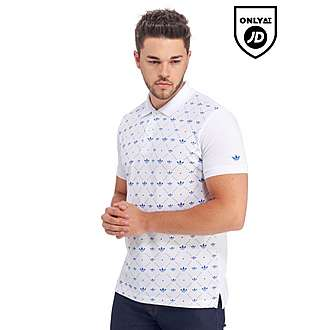 adidas Originals All-Over Print Polo Shirt