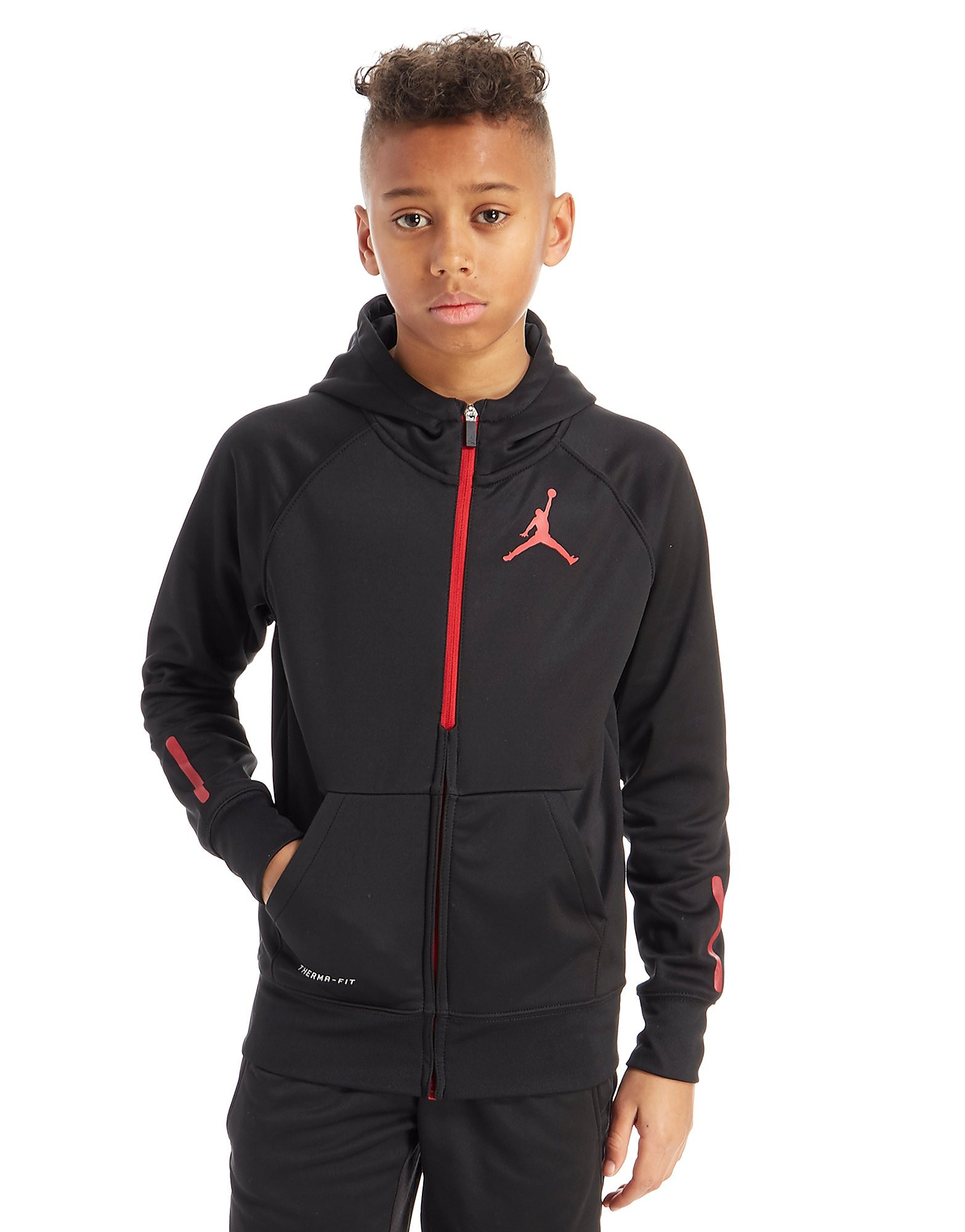 Jordan Jumpman Poly Full Zip Hoodie Junior