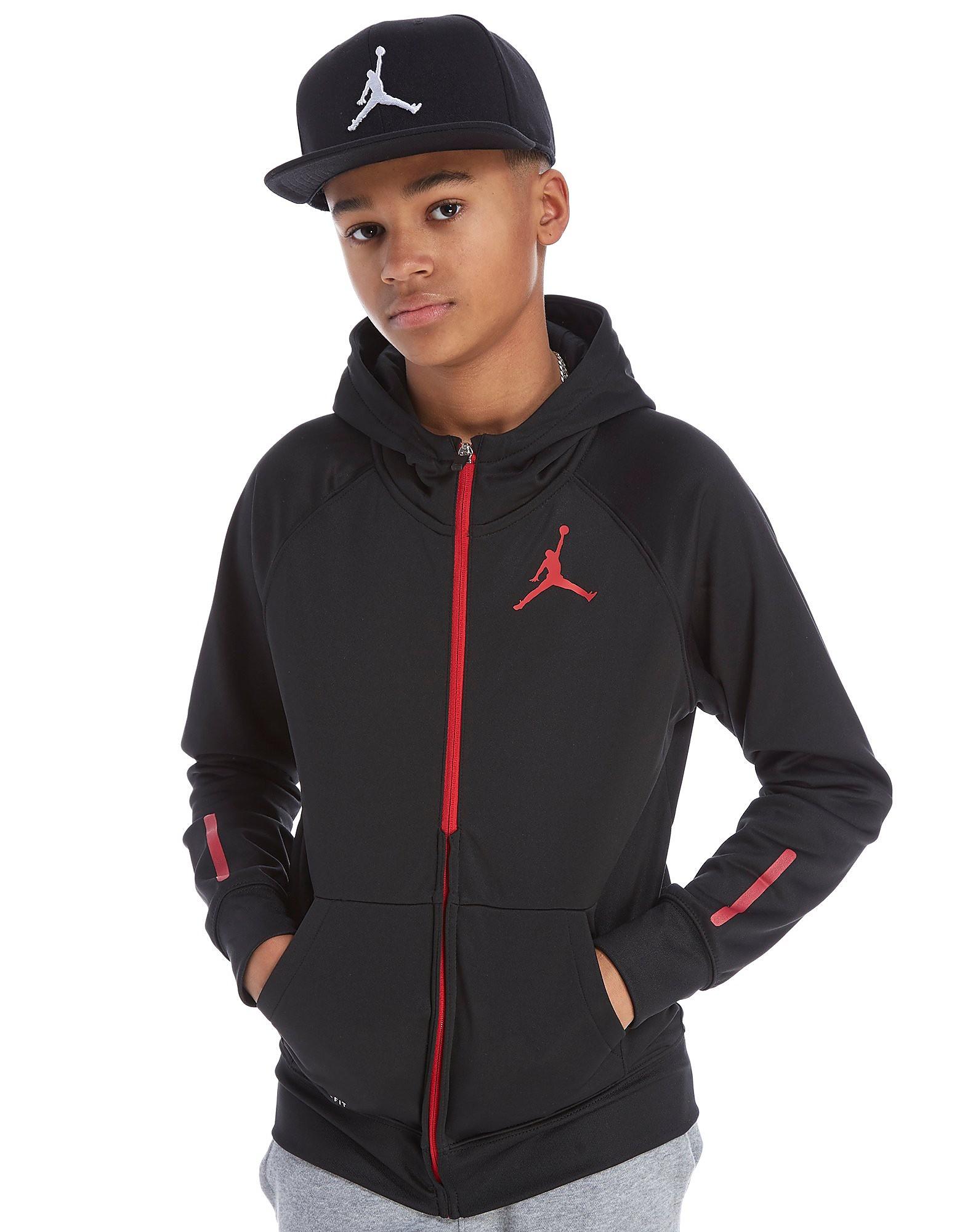 Jordan Jumpman Poly Full Zip Hoodie Junior