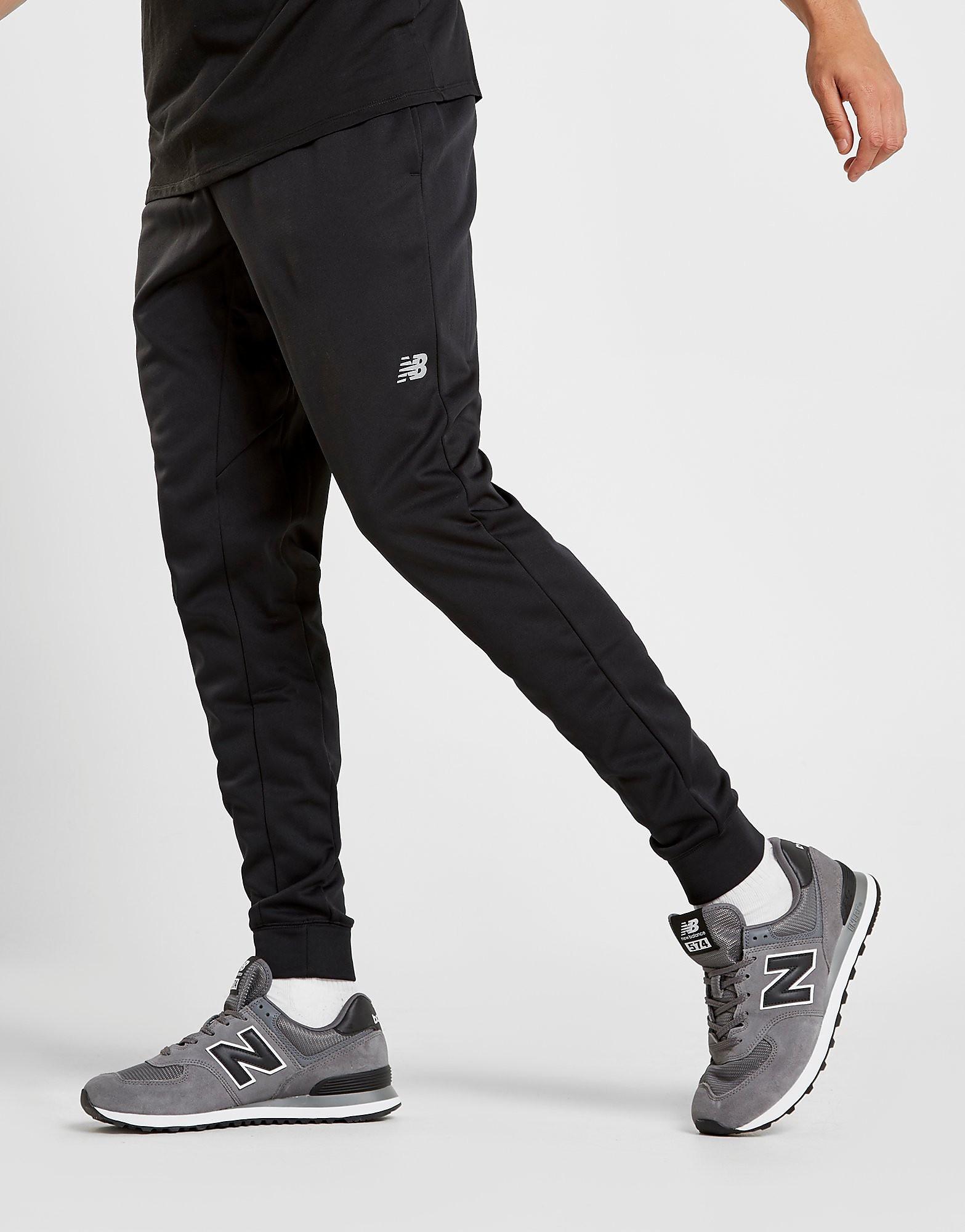 New Balance Core Poly Pants - Zwart - Heren